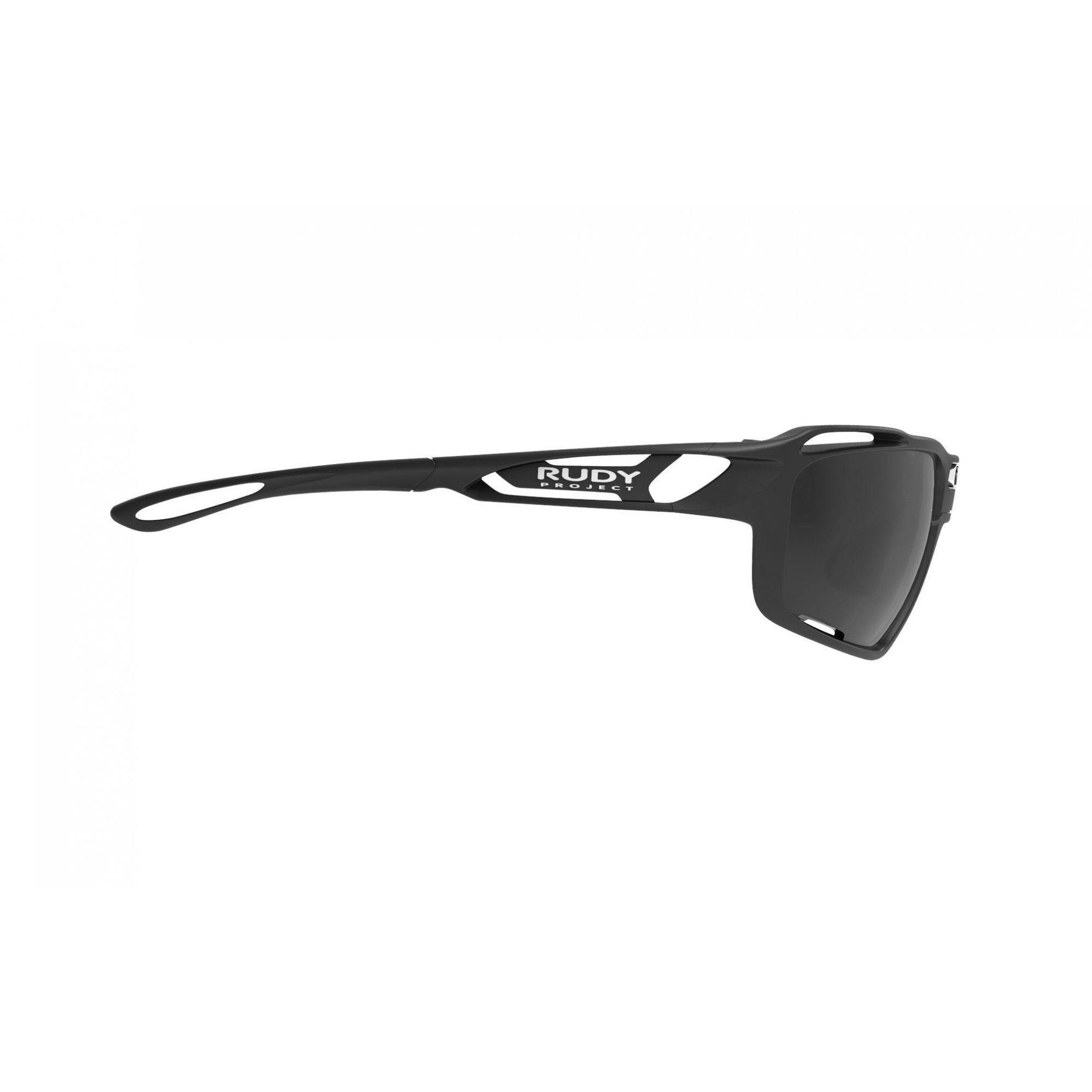 OKULARY RUDY PROJECT SINTRYX BLACK + SMOKE TRANS SP491006 4