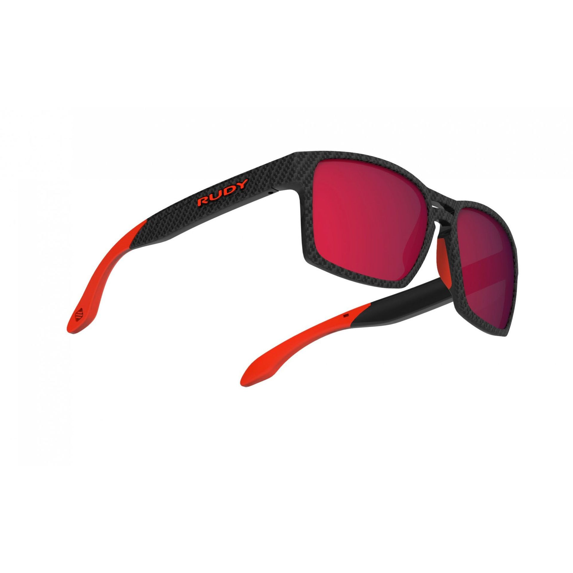 OKULARY RUDY PROJECT SPINAIR 57 CARBONIUM + ML RED SP573819 4