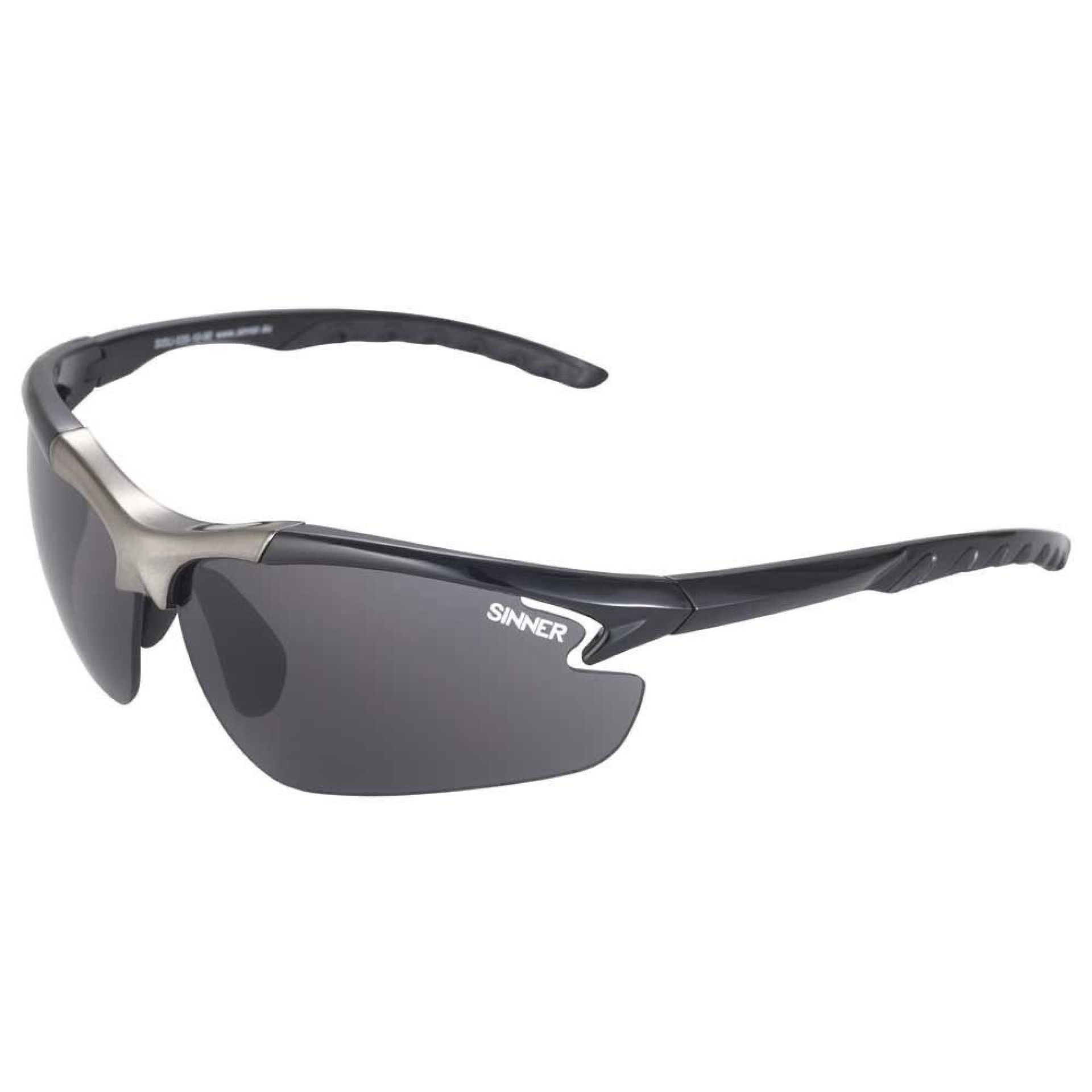 OKULARY SINNER FIREBUG SHINY BLACK 1