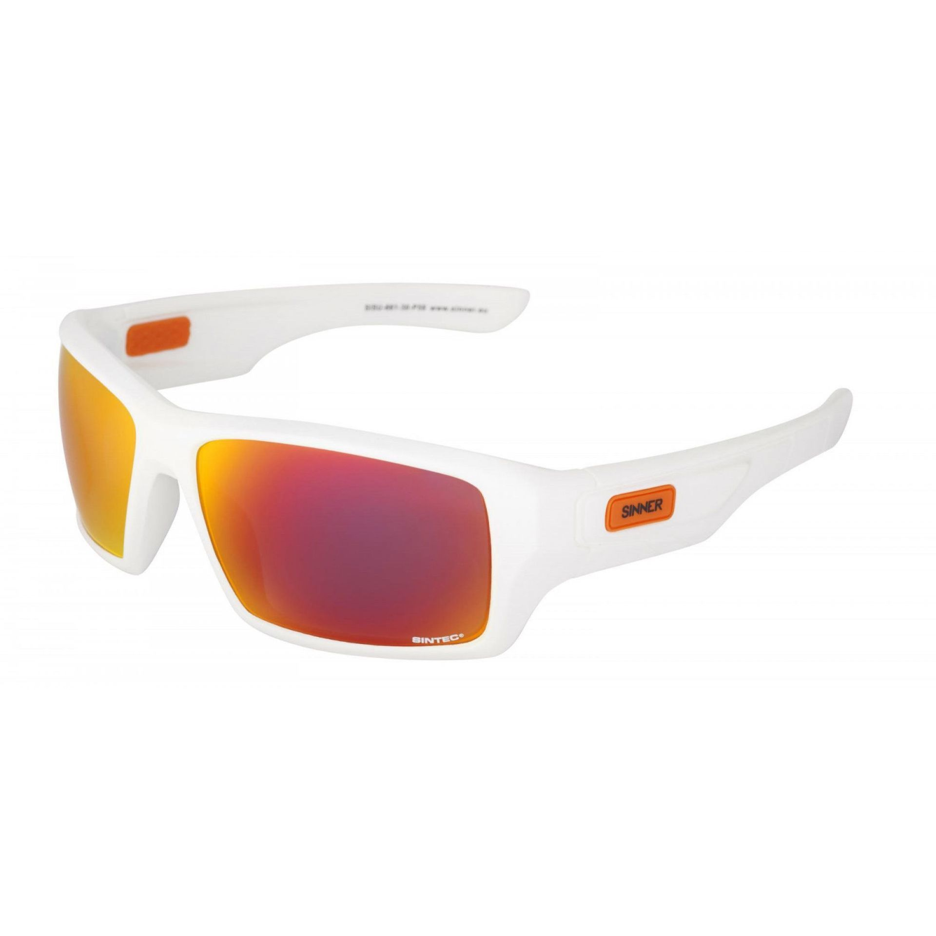 OKULARY SINNER SUNBURST WHITE 1