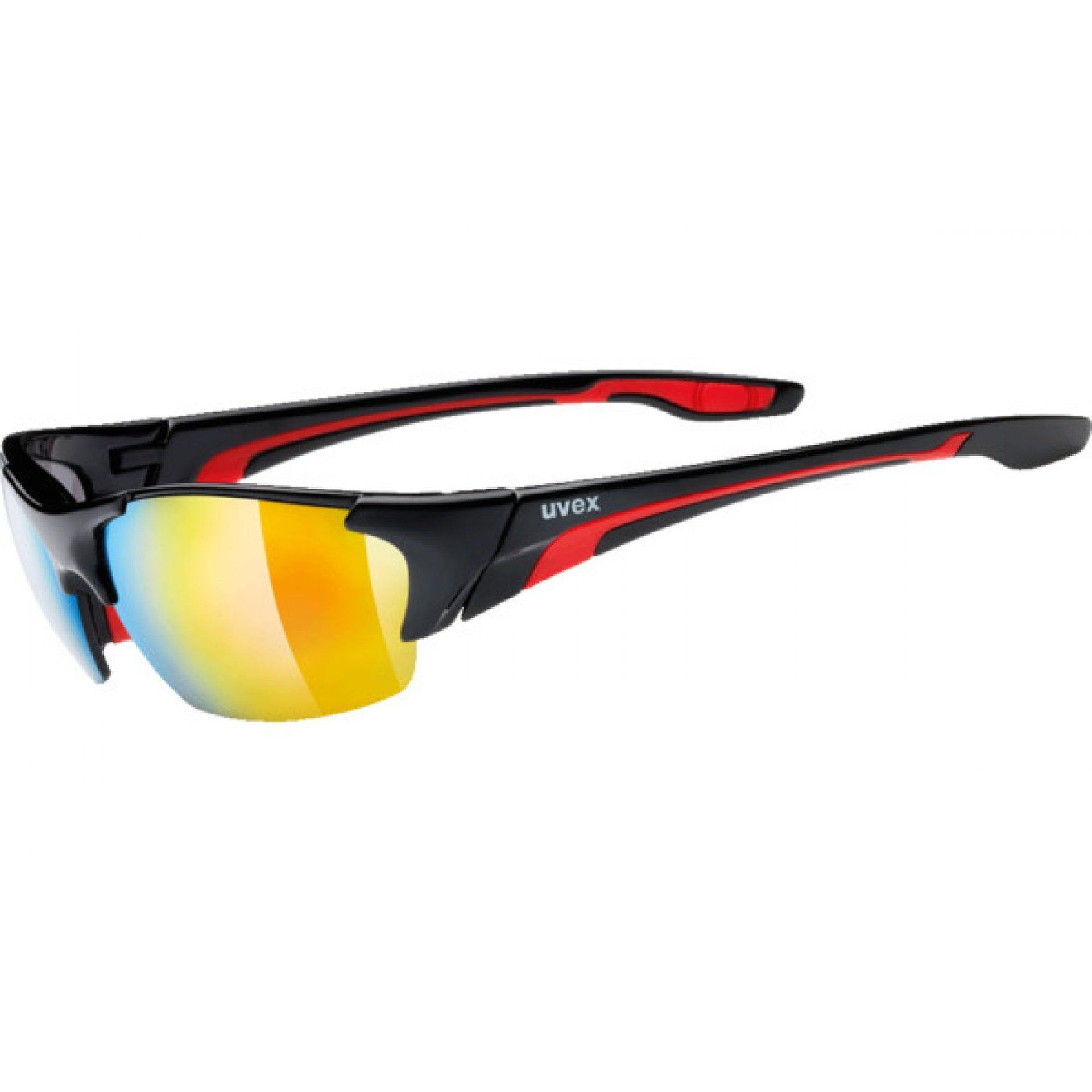 OKULARY UVEX BLAZE III 604|2316 BLACK|RED