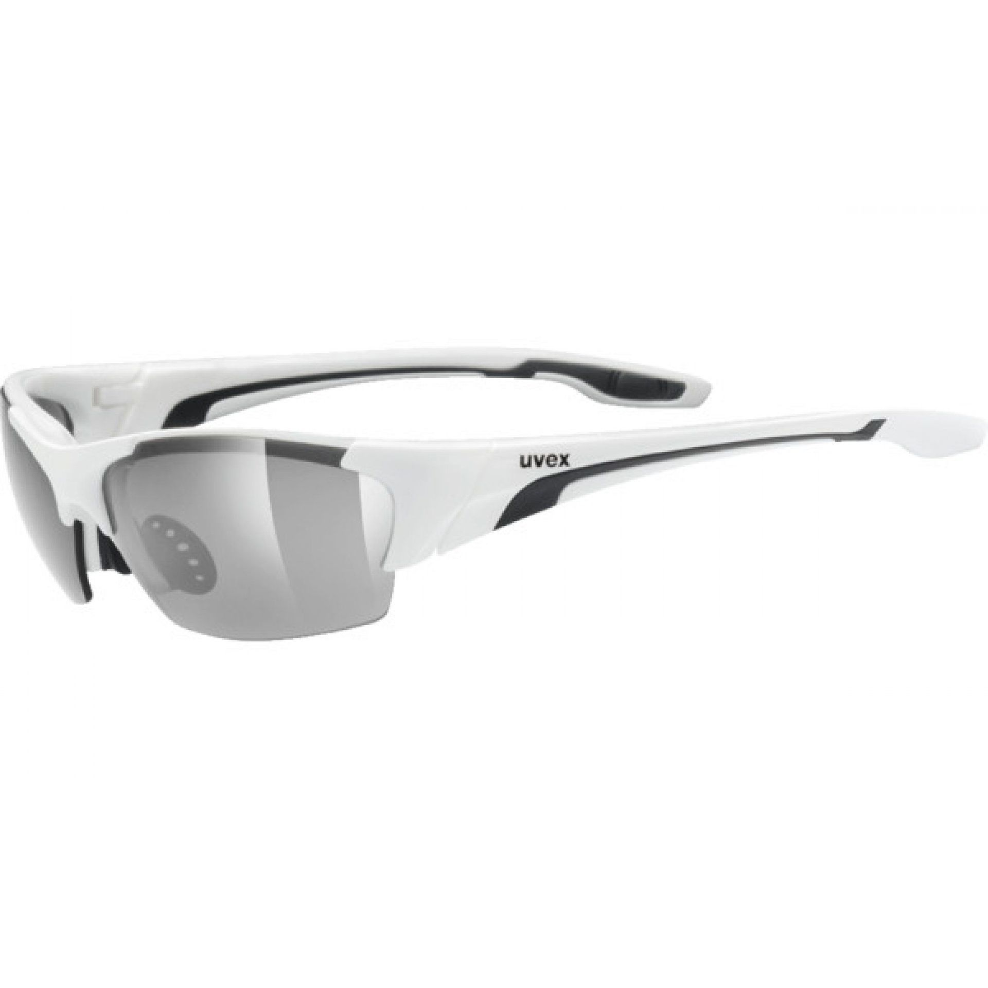 OKULARY UVEX BLAZE III 604|8216 WHITE|BLACK