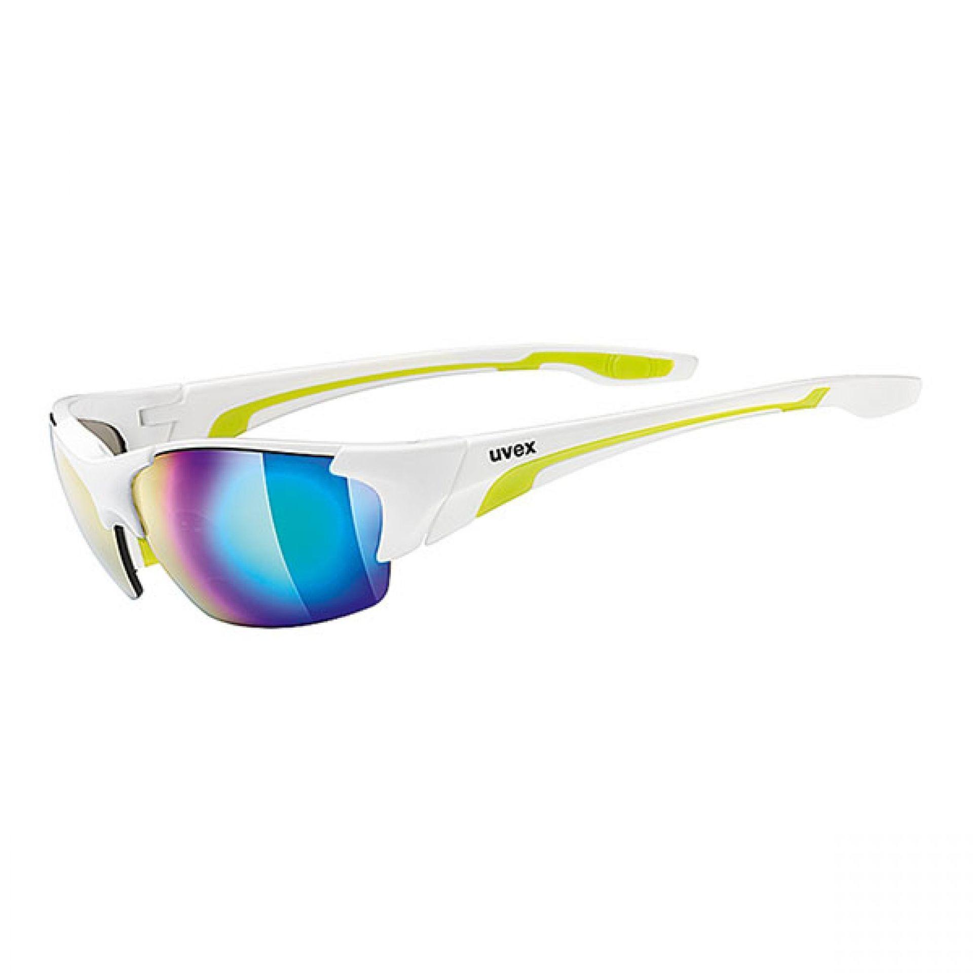 Okulary Uvex Blaze III biały|zielony