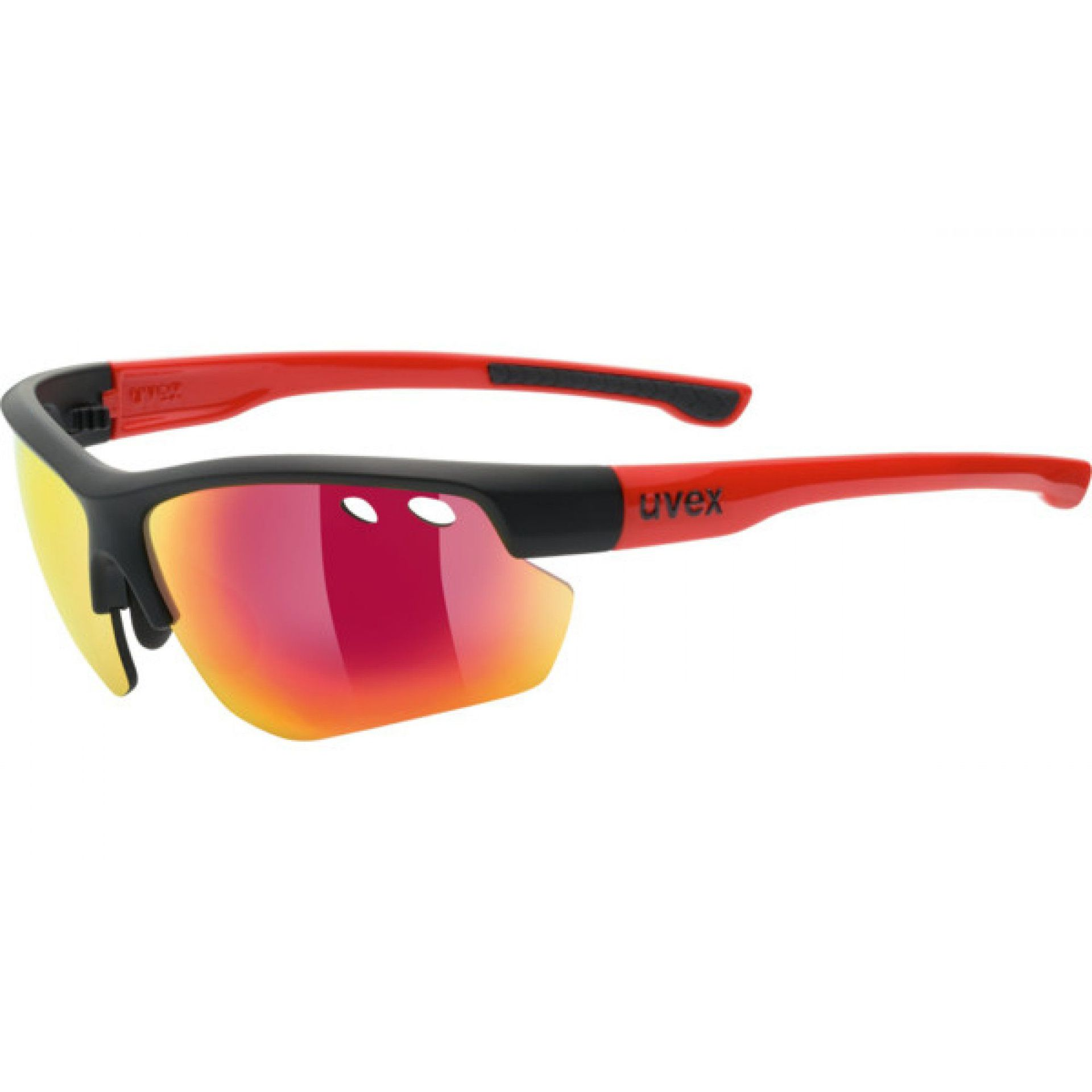 OKULARY UVEX SPORTSTYLE 115 978|2316 BLACK MAT|RED