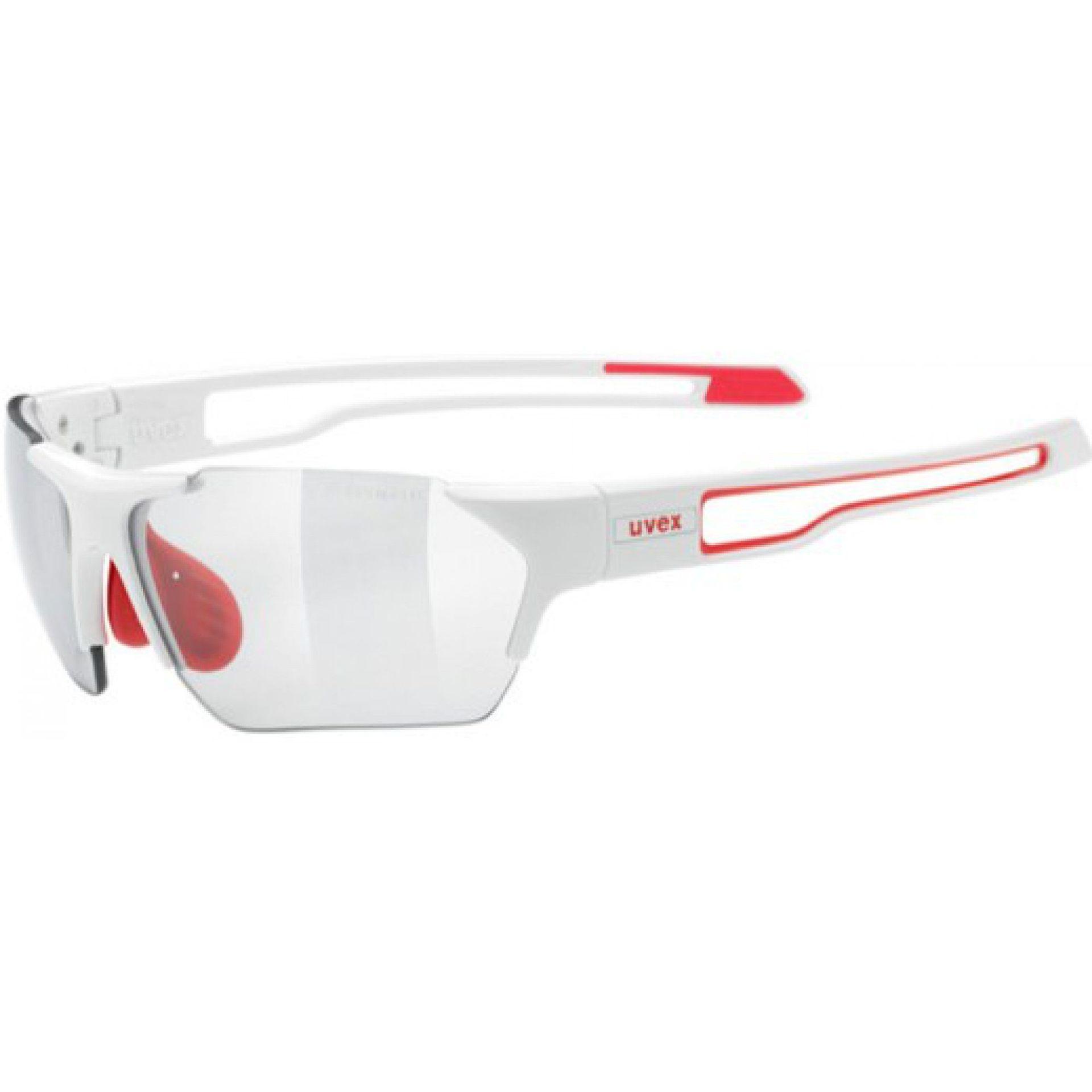 OKULARY UVEX SPORTSTYLE 202 SMALL V WHITE RED
