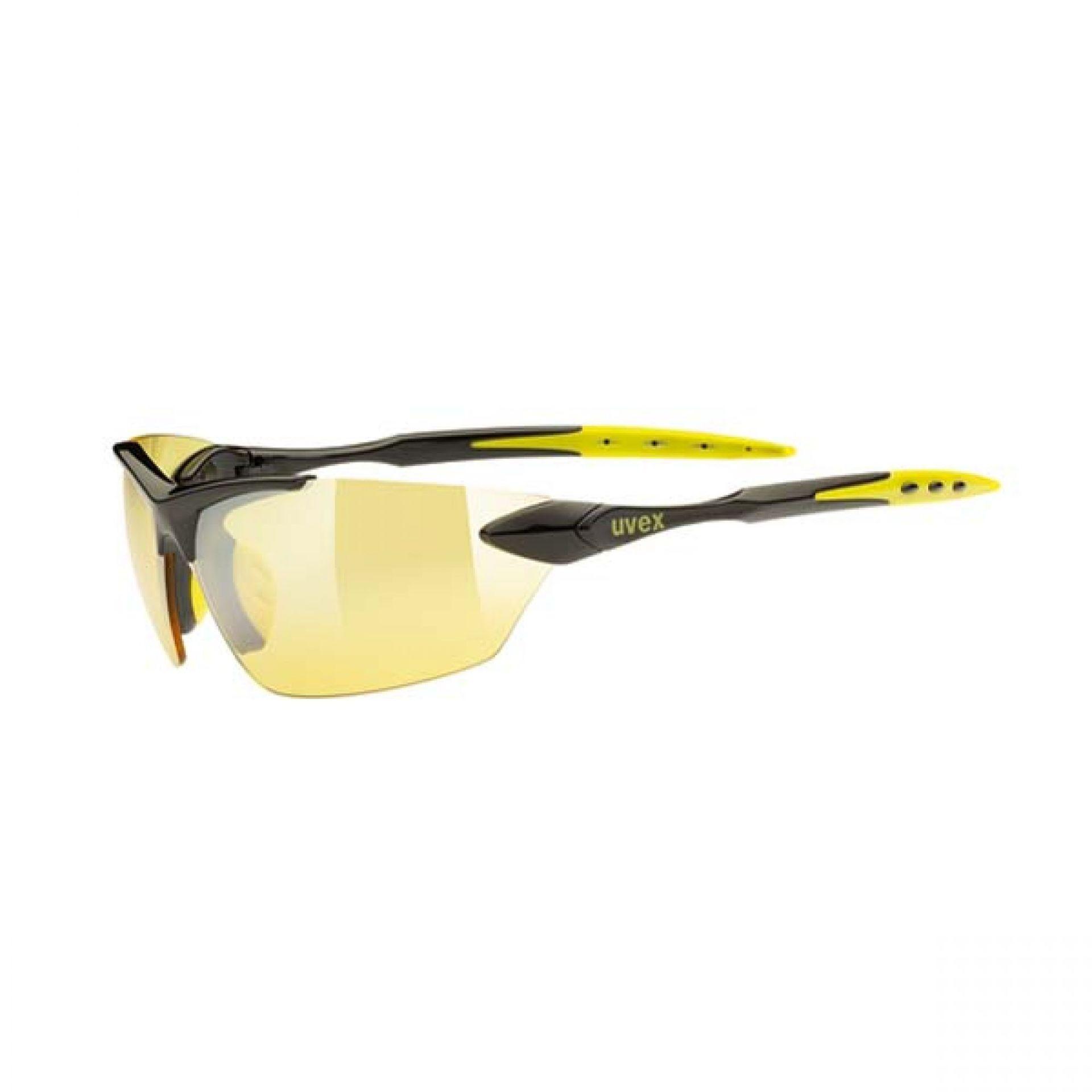 Okulary Uvex Sportstyle 203 czarny|żółty