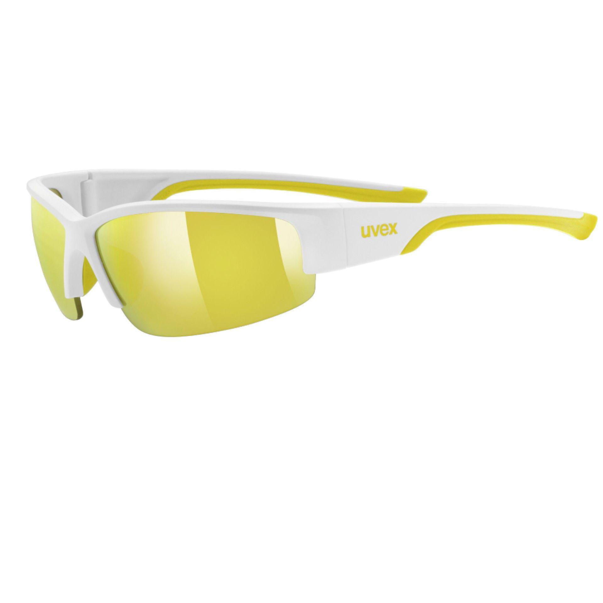 Okulary Uvex Sportstyle 215 biały|żółty