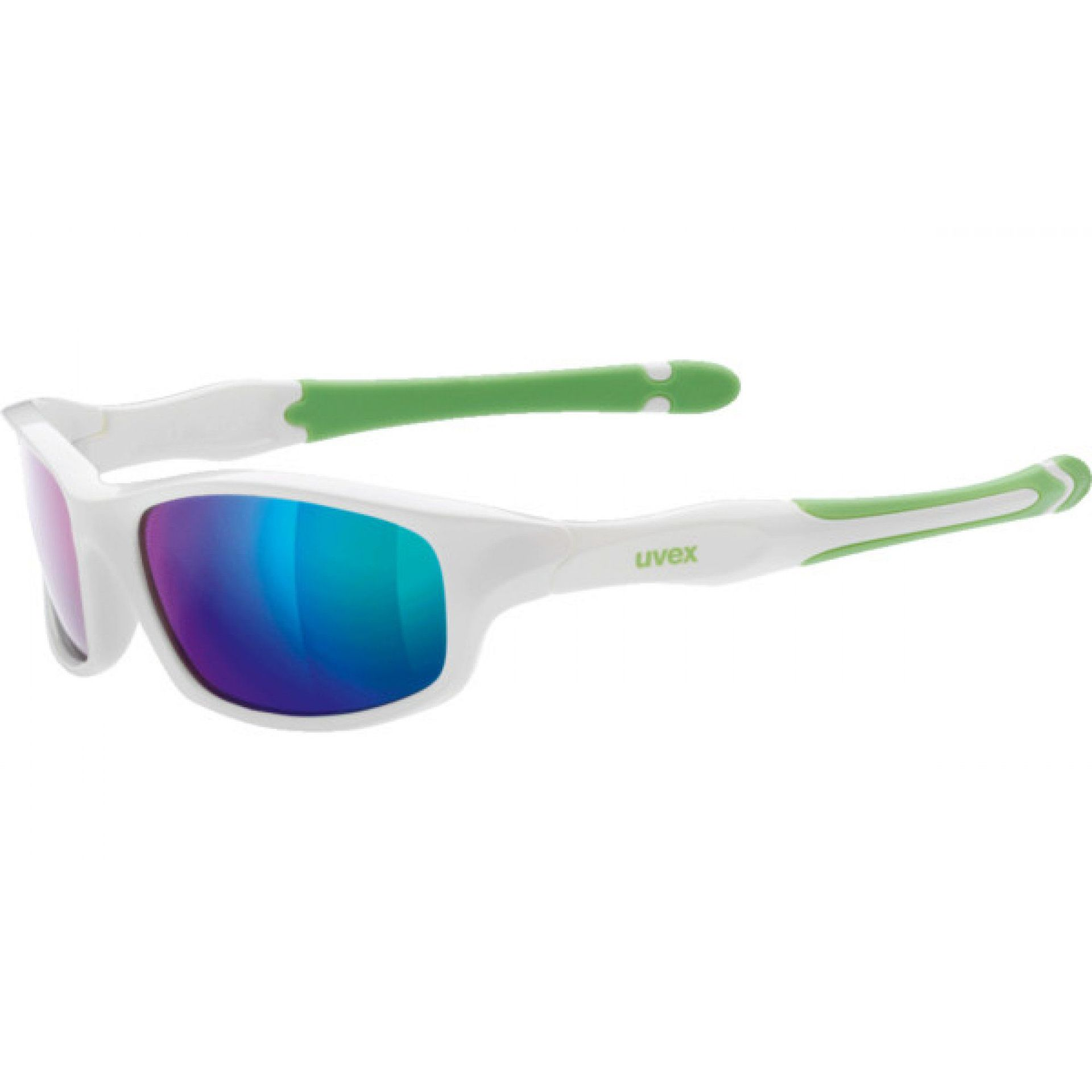 OKULARY UVEX SPORTSTYLE 507 866|8716 WHITE|GREEN