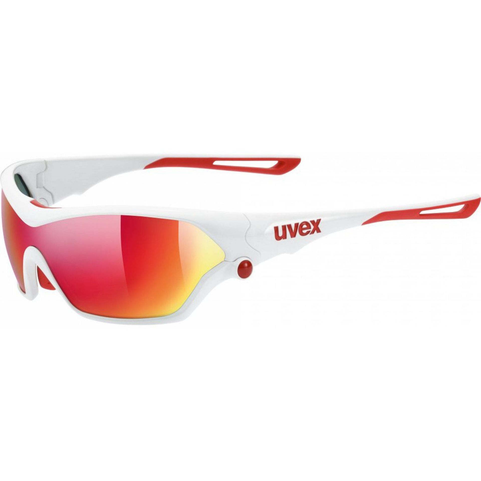 OKULARY UVEX SPORTSTYLE 705 WHITE RED