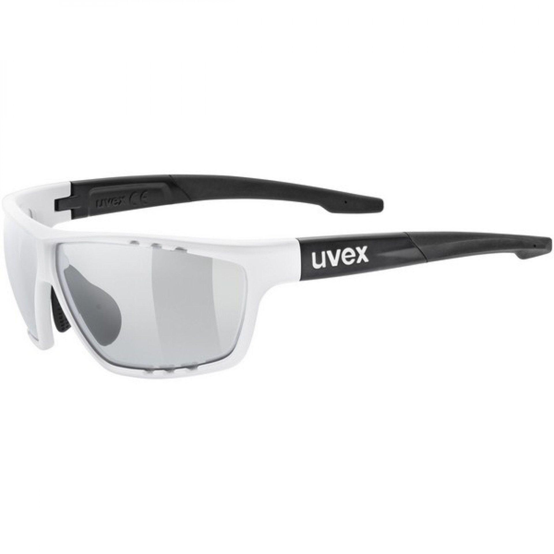 OKULARY UVEX SPORTSTYLE 706 V WHITE MAT BLACK 8201