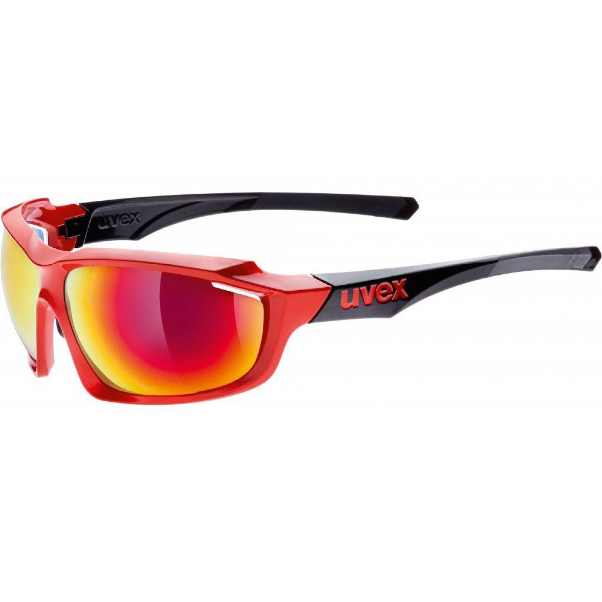 OKULARY UVEX SPORTSTYLE 710 RED BLACK