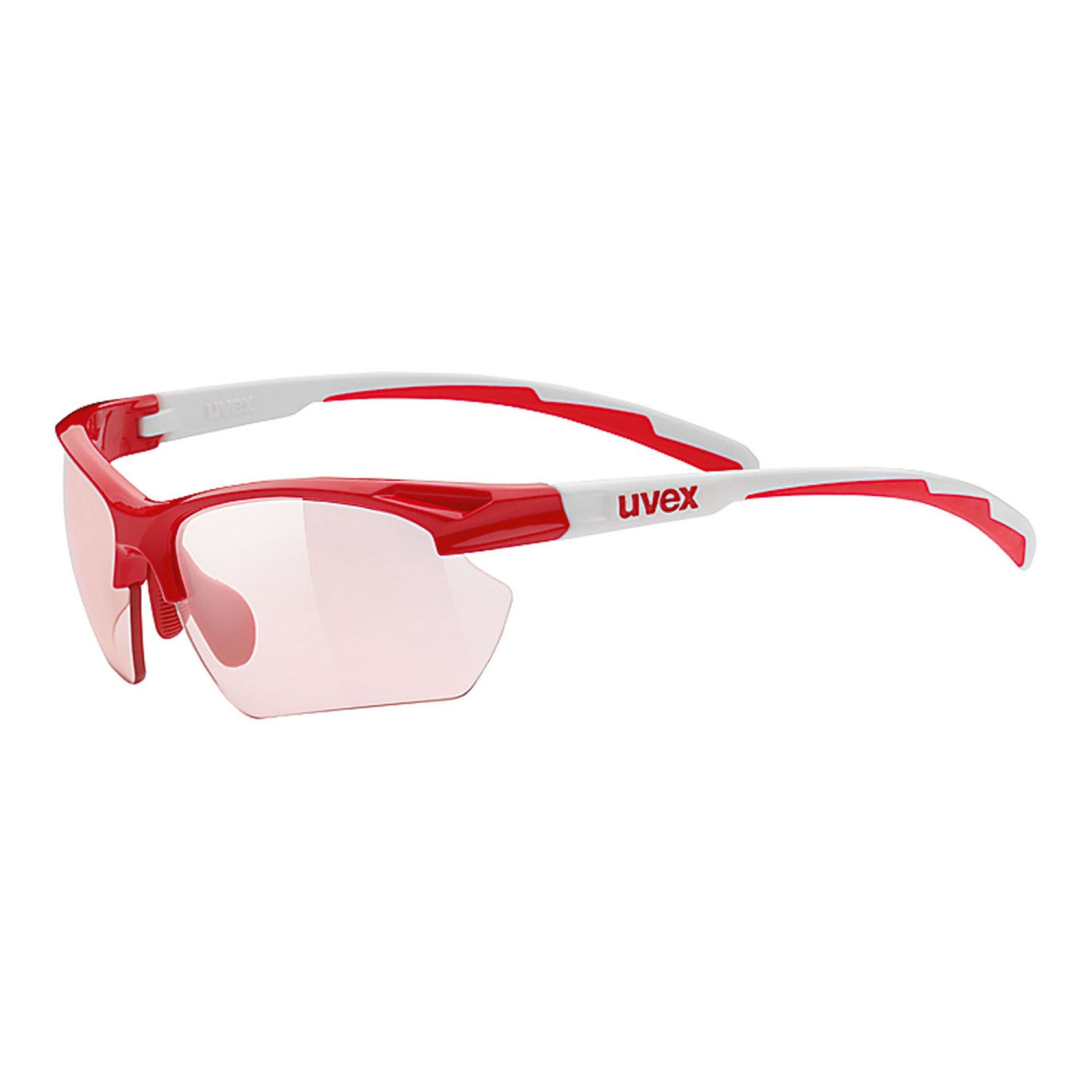 OKULARY UVEX SPORTSTYLE 802 SMALL RED WHITE