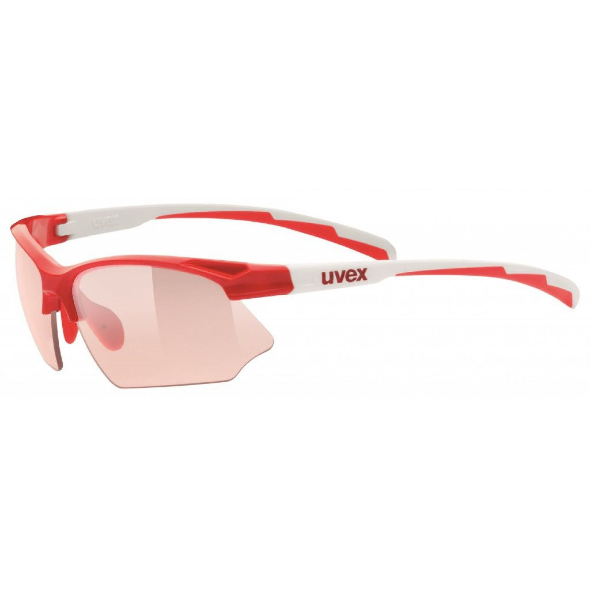 OKULARY UVEX SPORTSTYLE 802 V RED WHITE