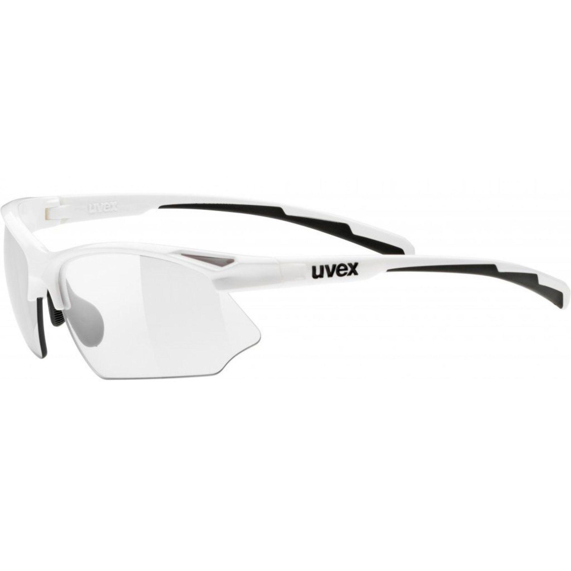 OKULARY UVEX SPORTSTYLE 802 V WHITE
