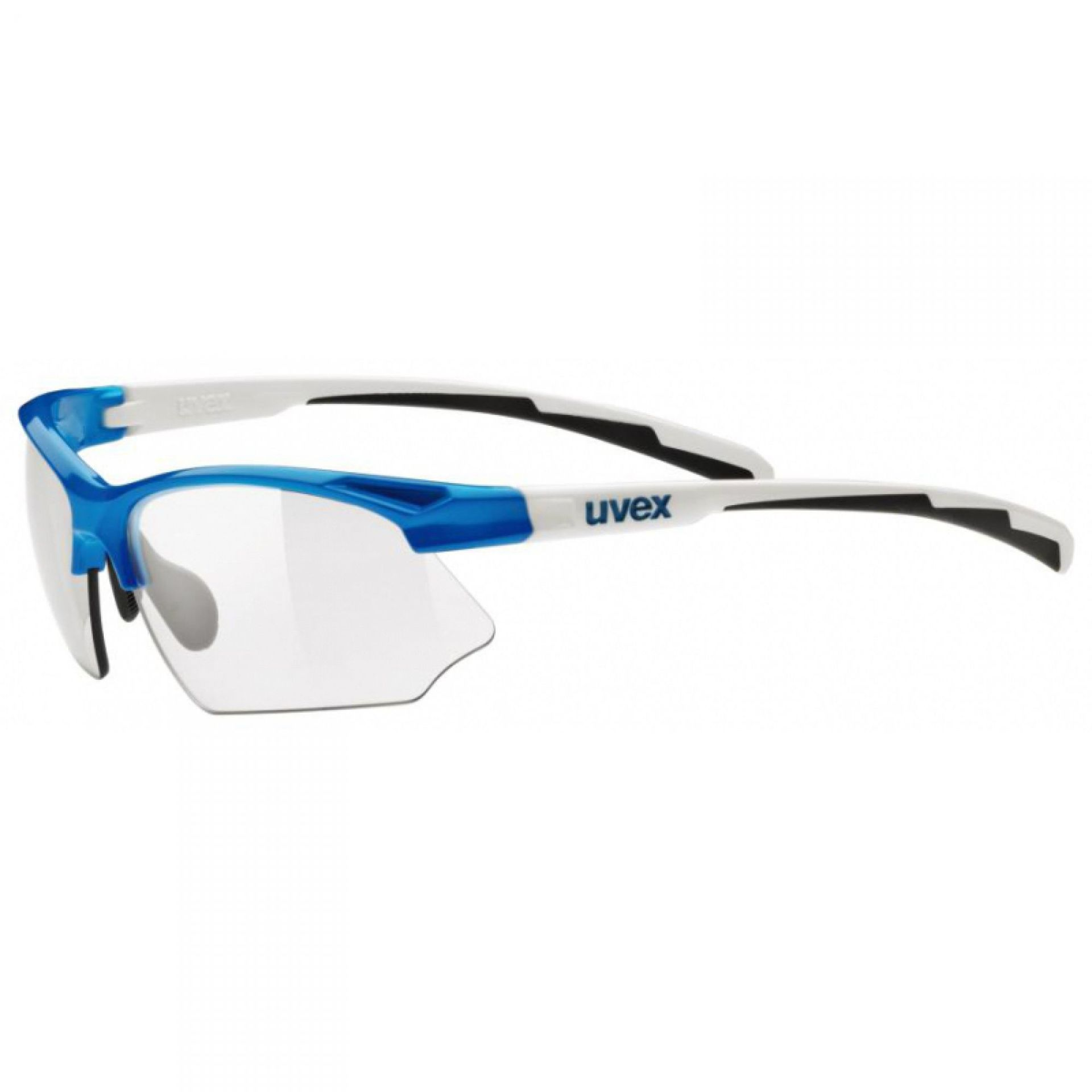 OKULARY UVEX SPORTSTYLE 802 WHITE BLUE