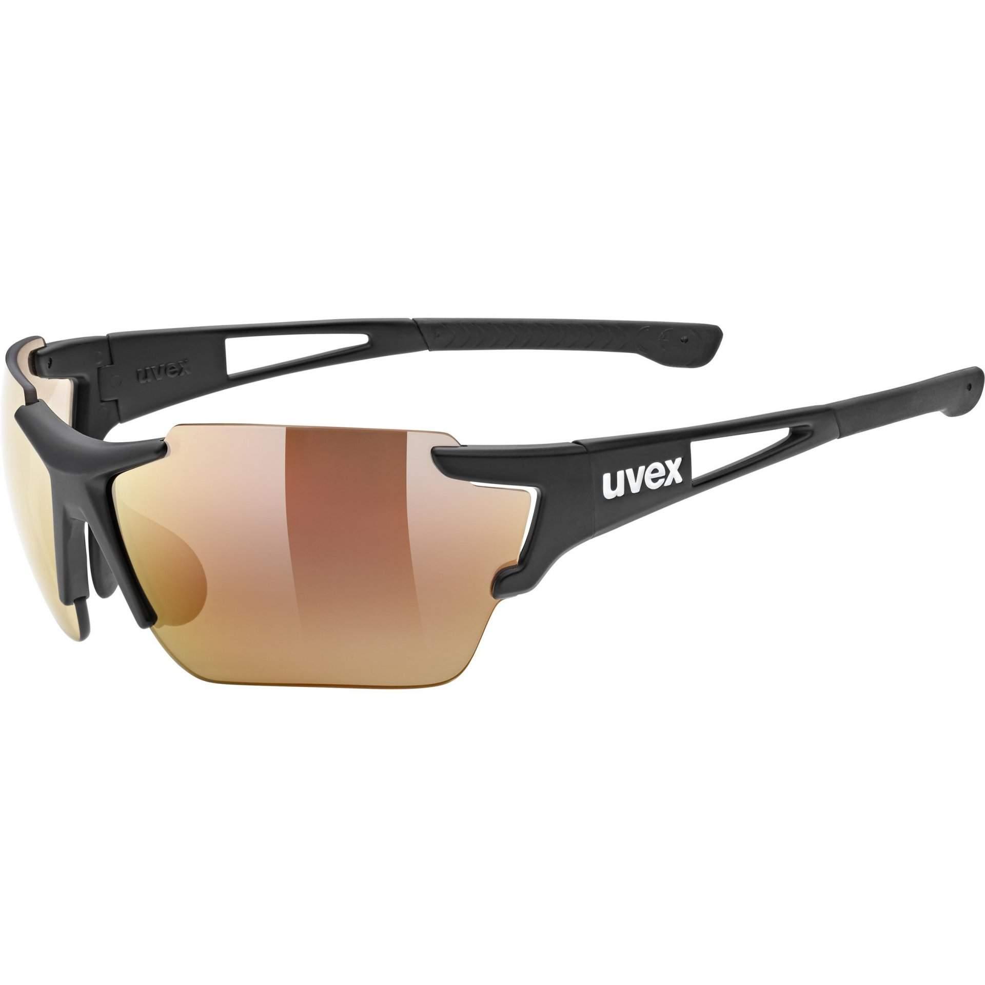 OKULARY UVEX SPORTSTYLE 803 53 3 041 2206 RACE CV V BLACK MAT
