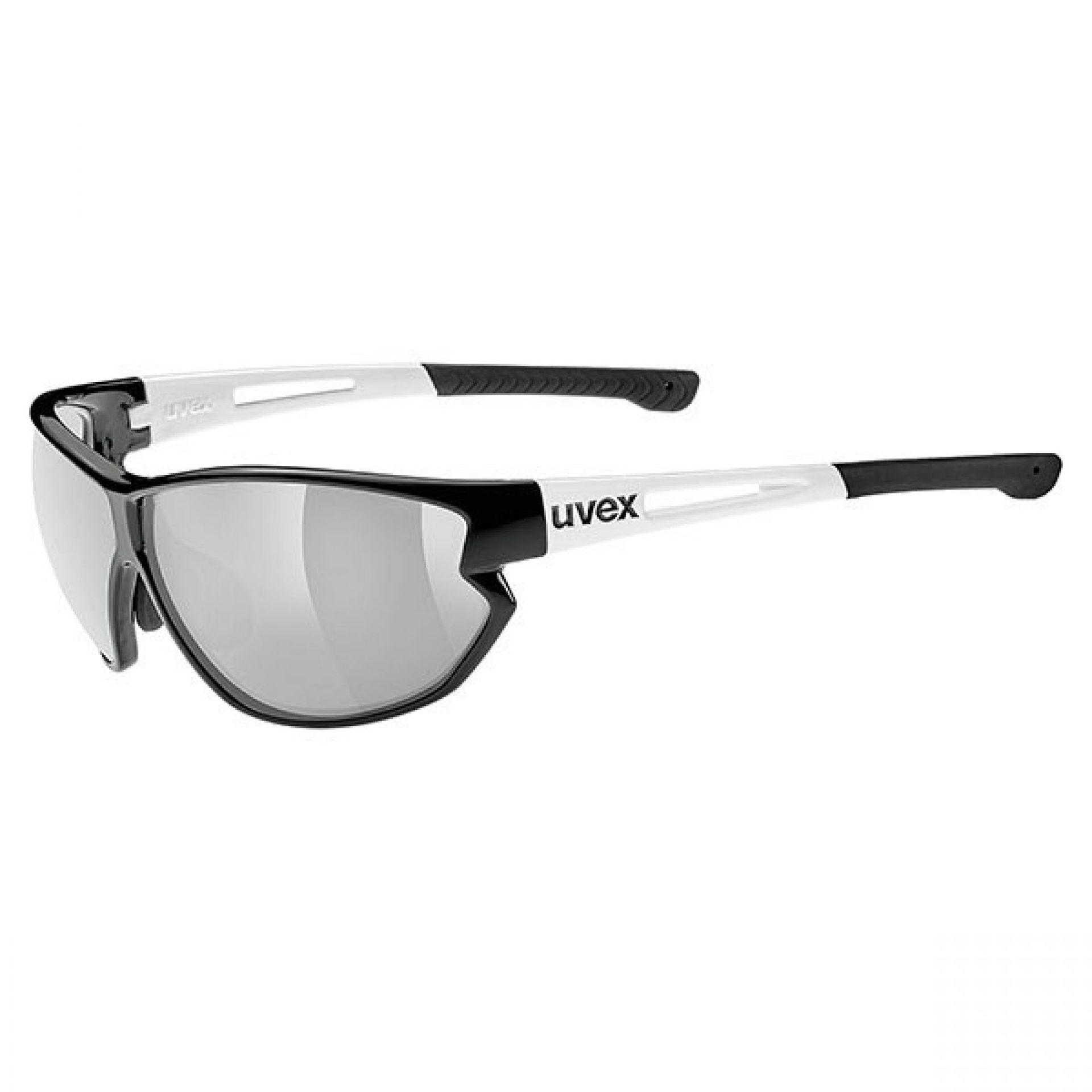 OKULARY UVEX  SPORTSTYLE 810 VM BLACK WHITE
