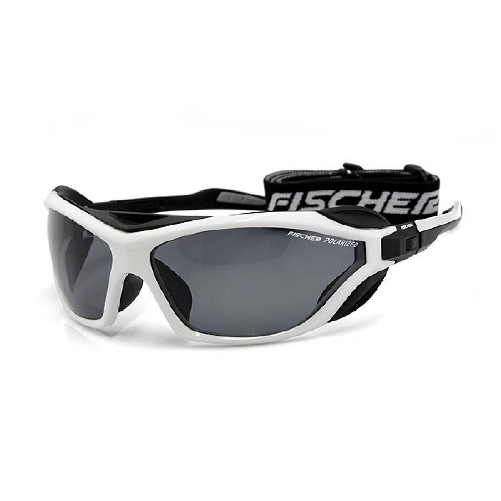 Okulaty Fischer FS19  czarny biały