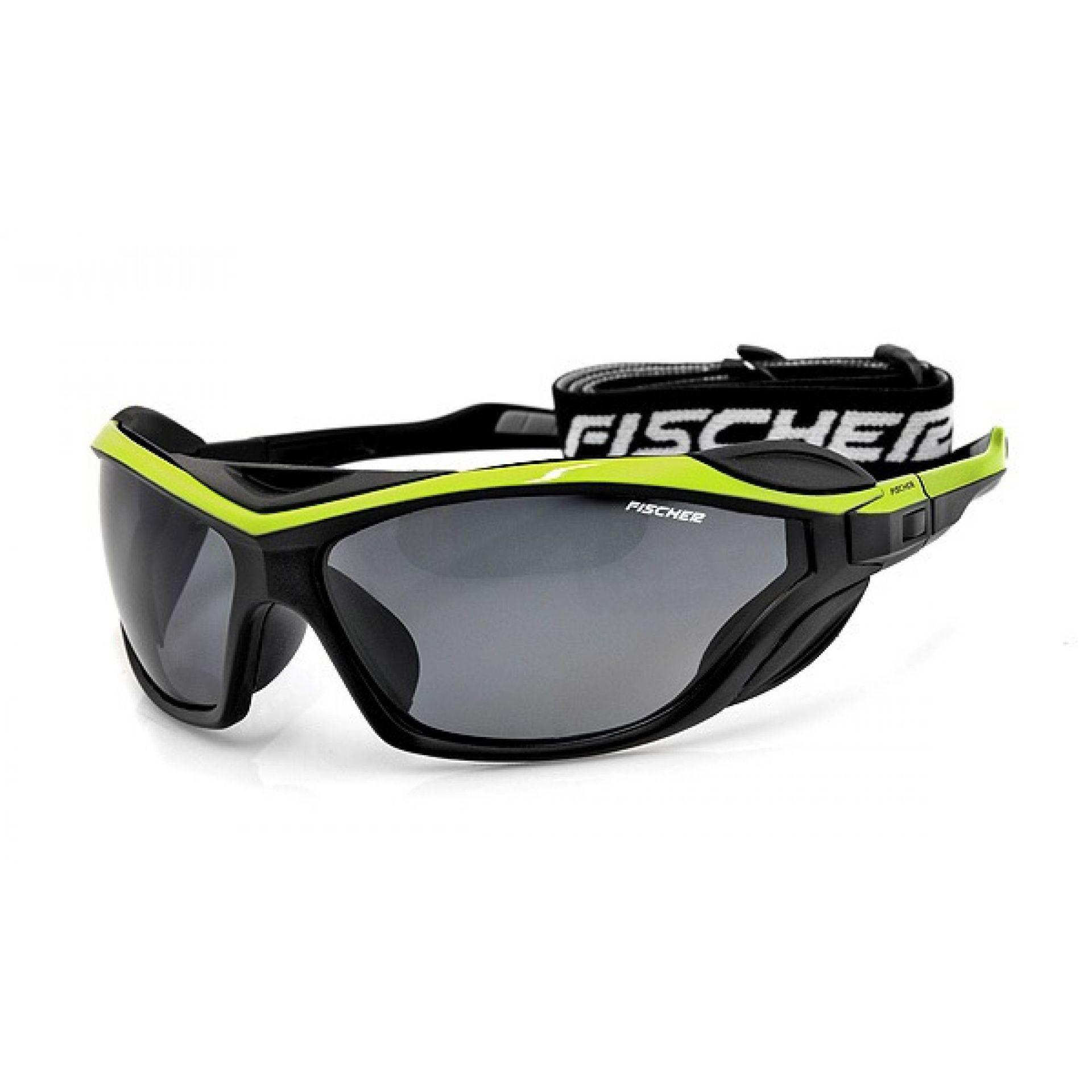 Okulaty Fischer FS19  czarny zielony