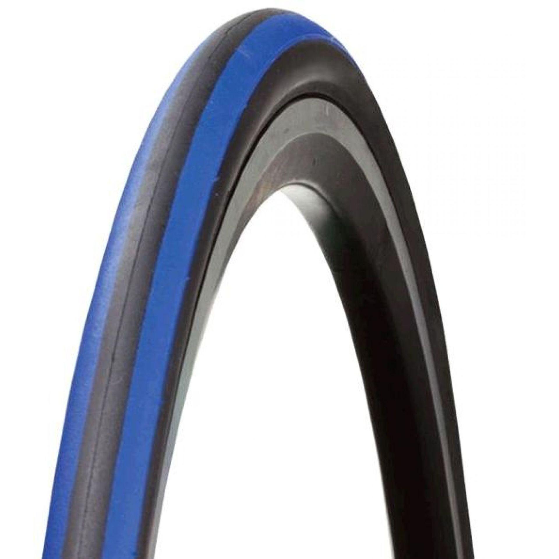 Opona Bontrager R2 700x23C czarny-niebieski