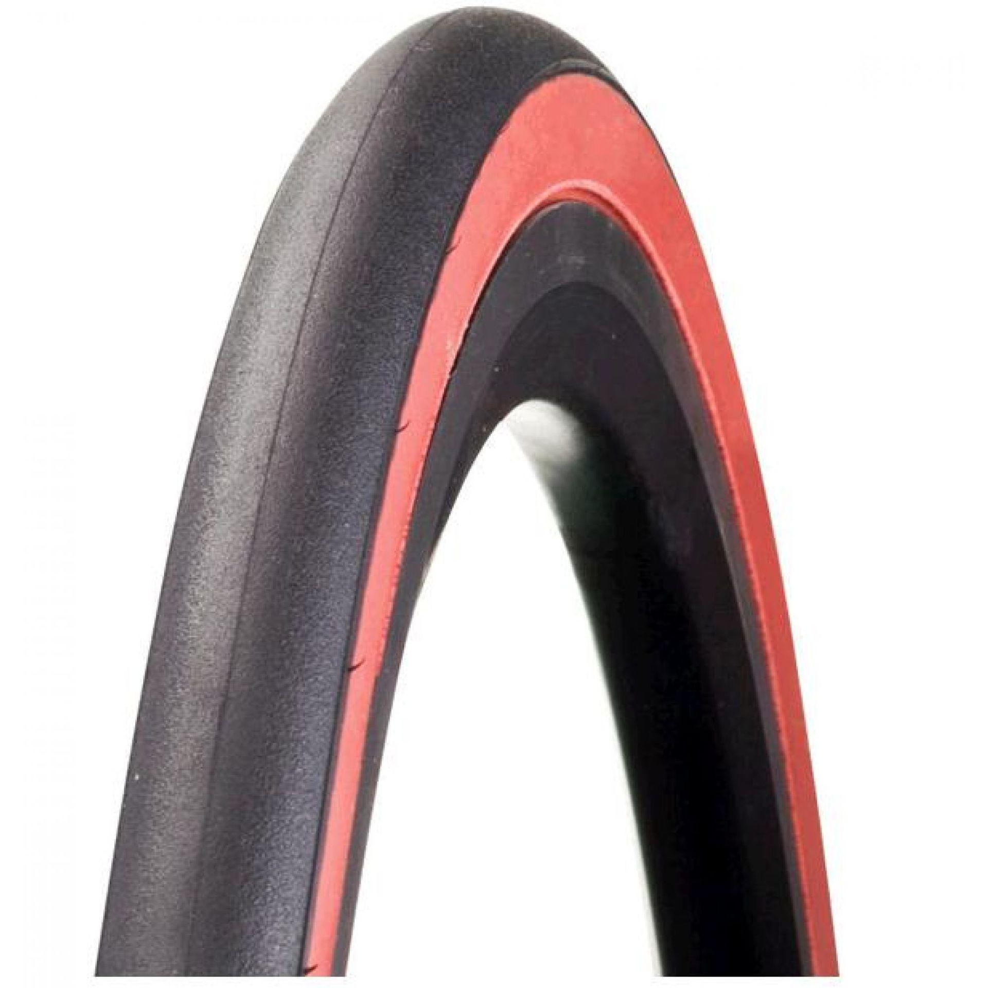 Opona Bontrager R3 700x23C czarny-czerwony