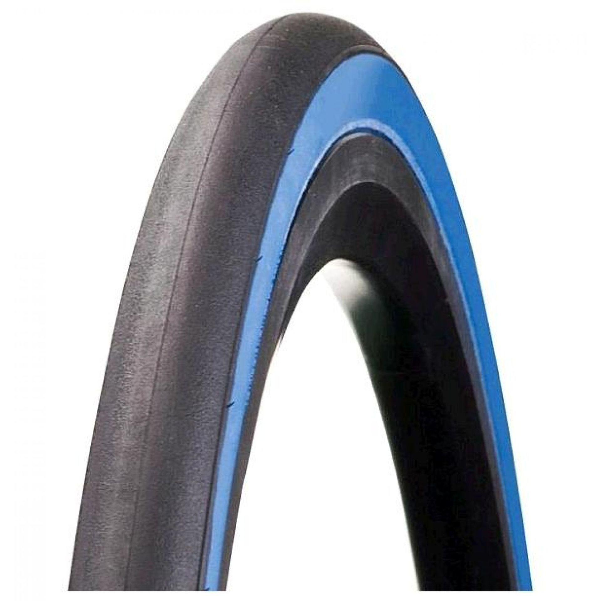Opona Bontrager R3 700x23C czarny-niebieski