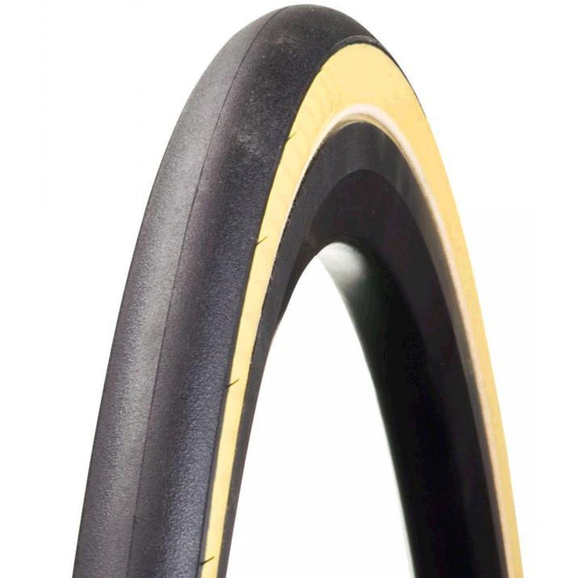 Opona Bontrager R3 700x23C czarny-żółty