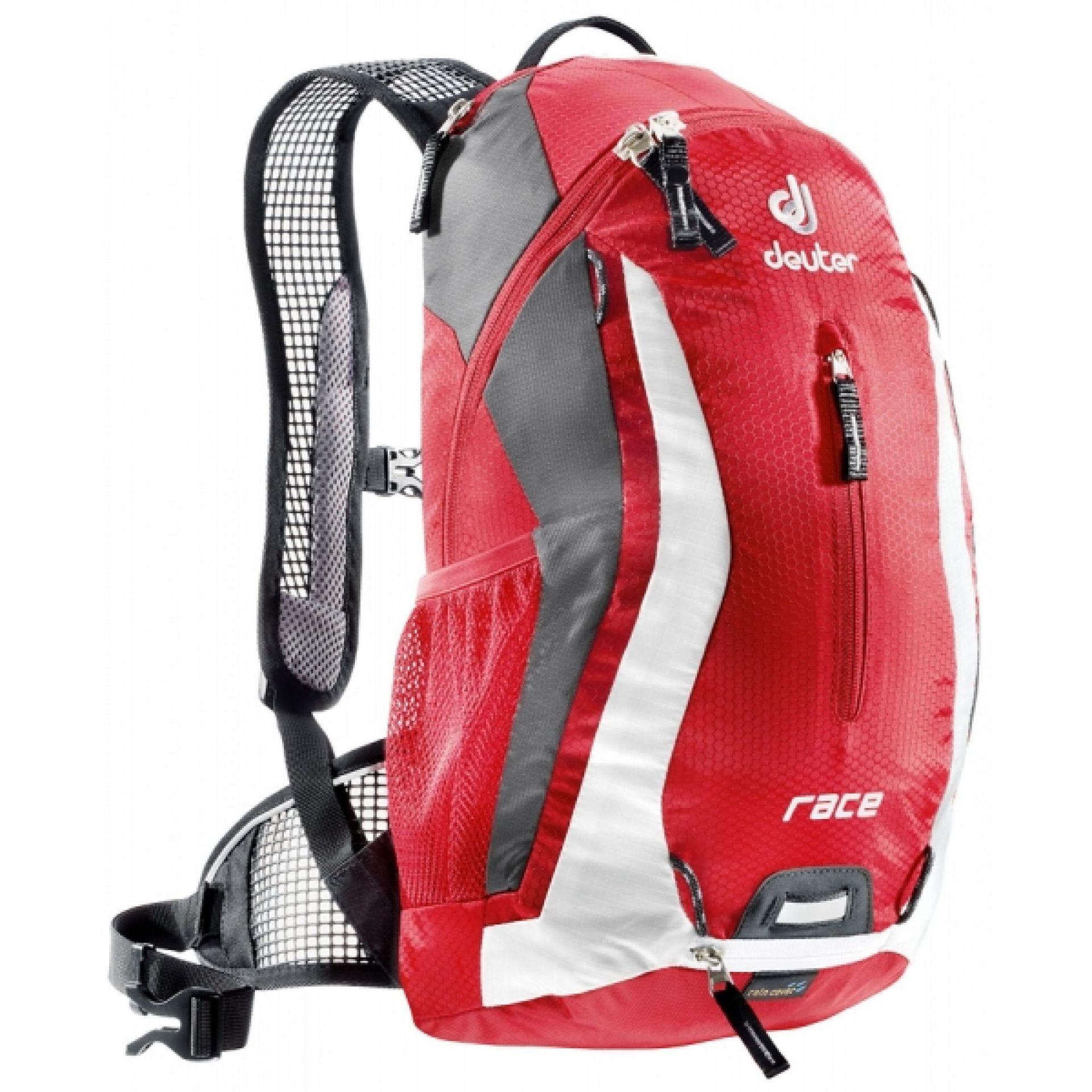Plecak Deuter Race czerwono biały