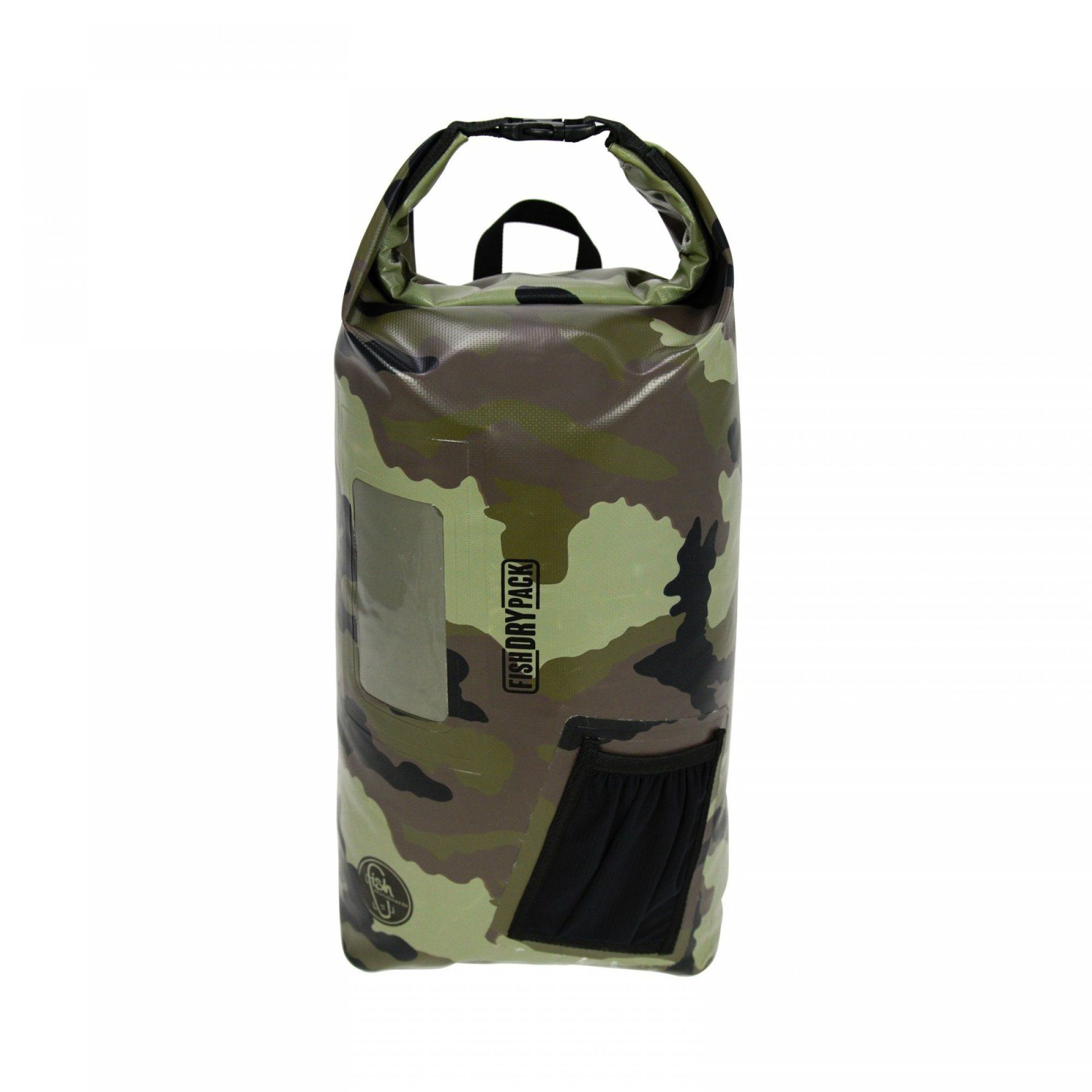 PLECAK FISH SKATEBOARDS FISH DRY PACK 18L CAMO 1