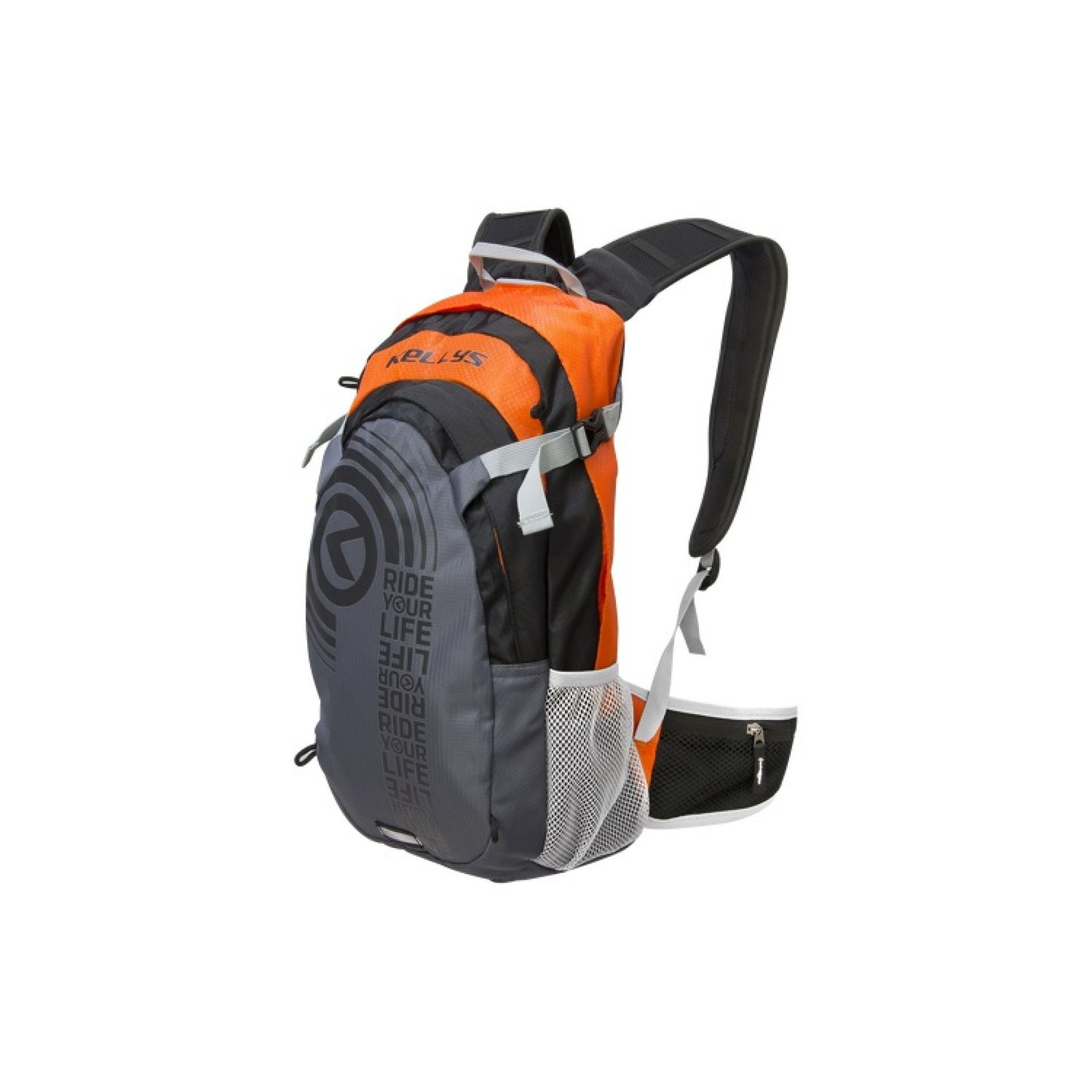 Plecak Kellys Hunter szary pomarańczowy