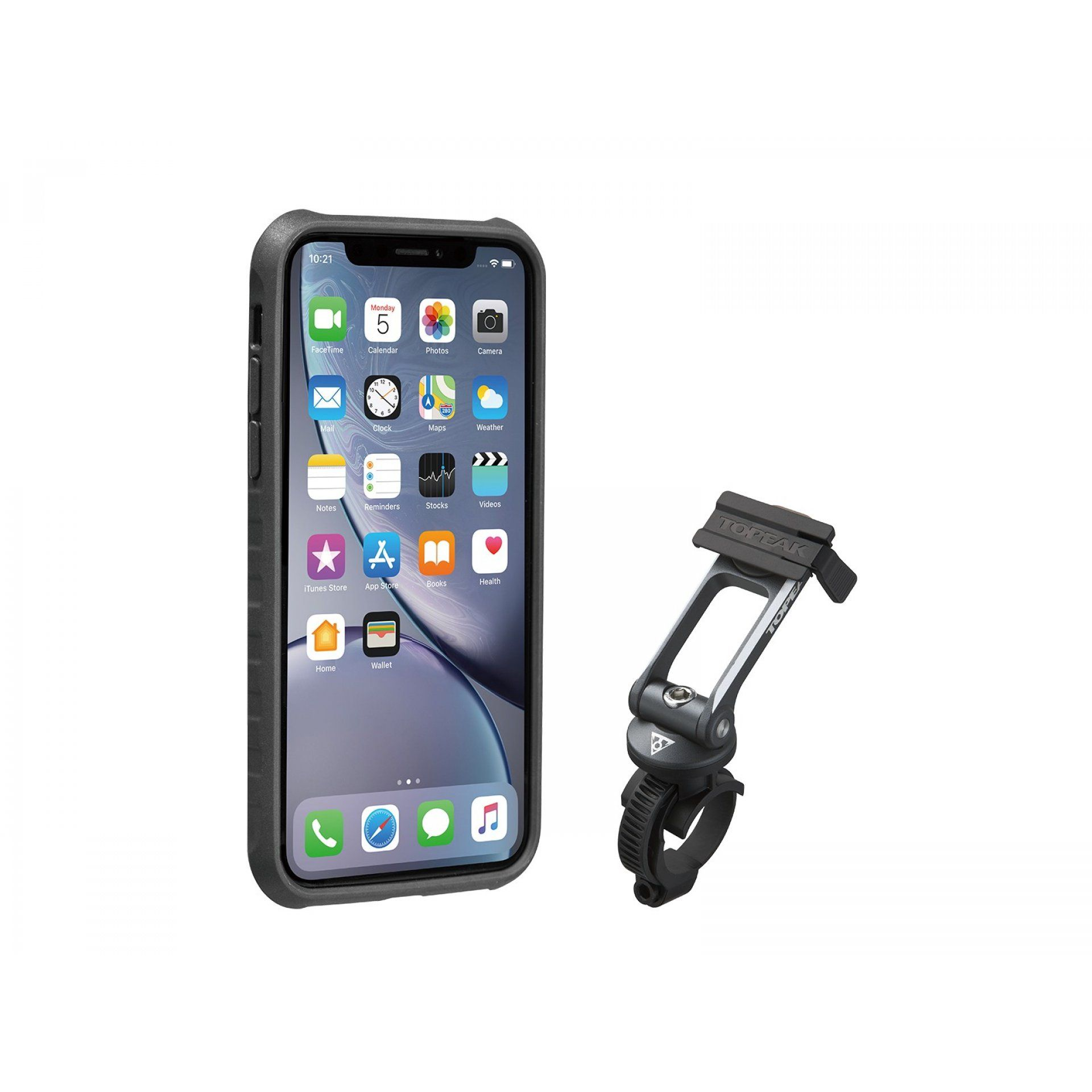POKROWIEC TOPEAK RIDECASE FOR IPHONE XR black gray