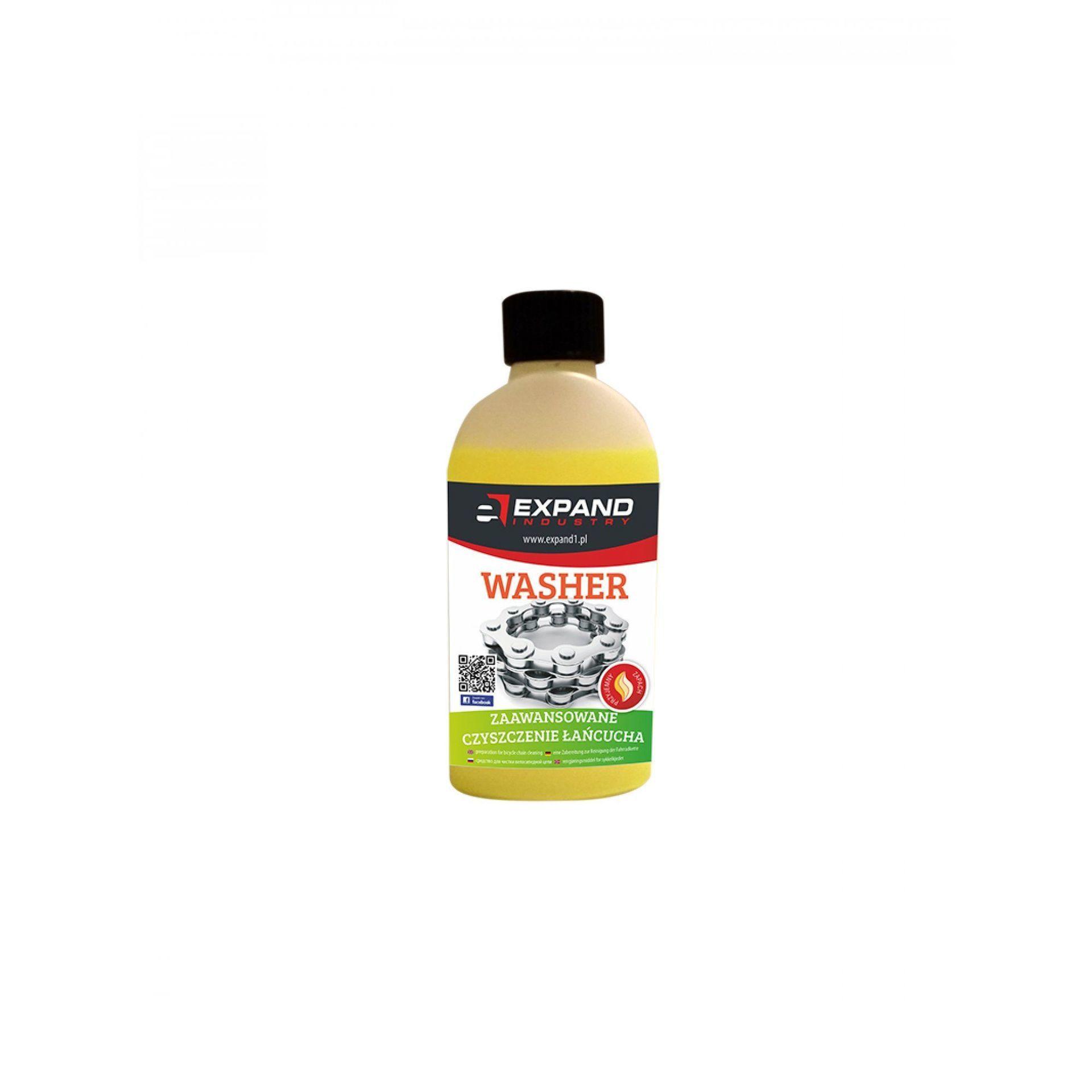 PREPARAT DO CZYSZCZENIA ŁAŃCUCHA ROWEROWEGO EXPAND WASHER 250 ml 1