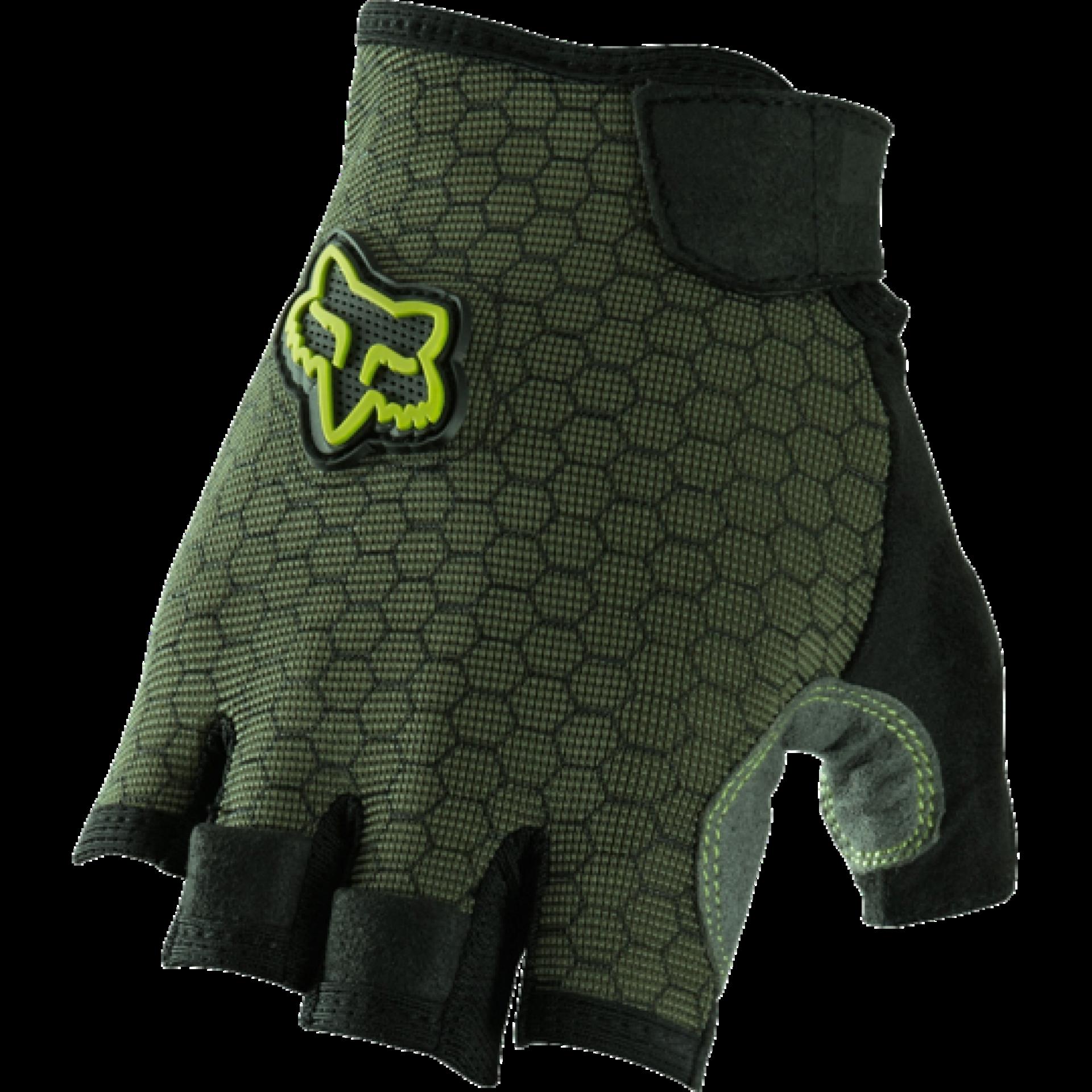 Rekawiczki rowerowe Foxhead Ranger short glove zielone góra