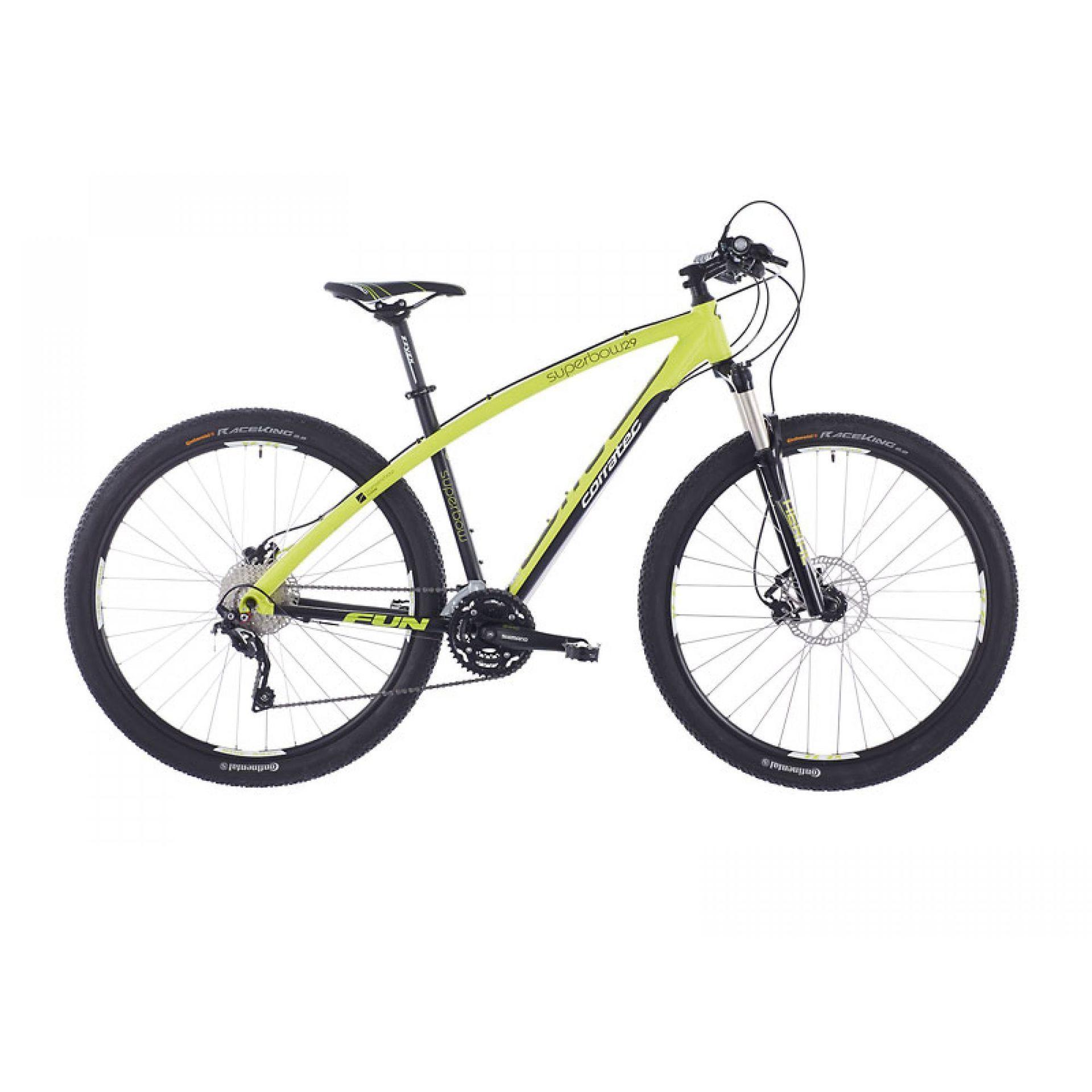 Rower Corratec Super Bow Race czarno zielony