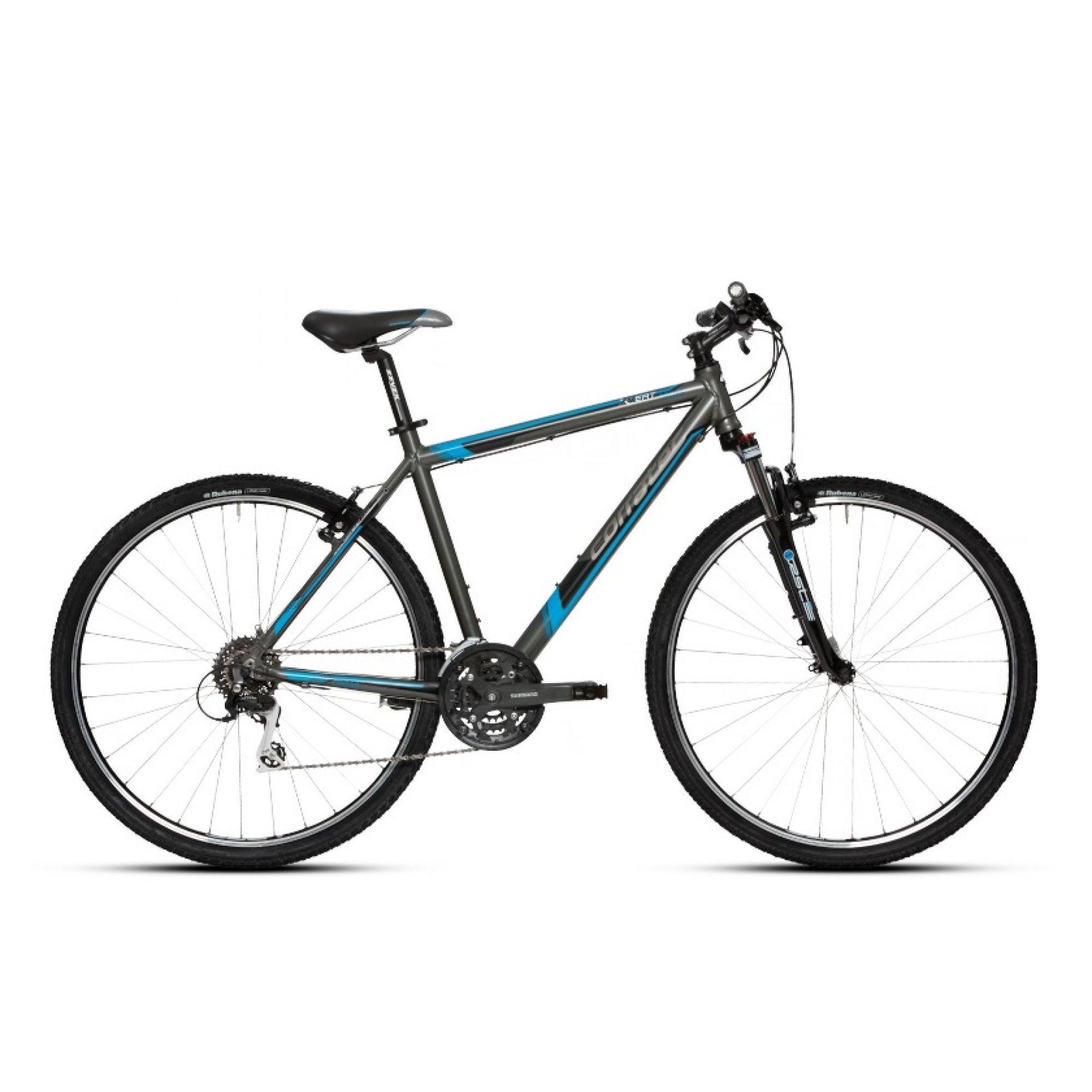 Rower Corratec X- Vert Cross Gent szaro niebieski