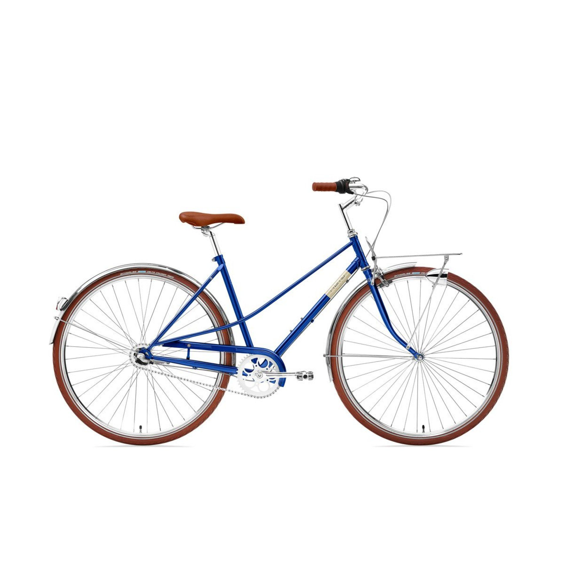 ROWER CREME CAFERACER LADY SOLO CLASSIC BLUE 1