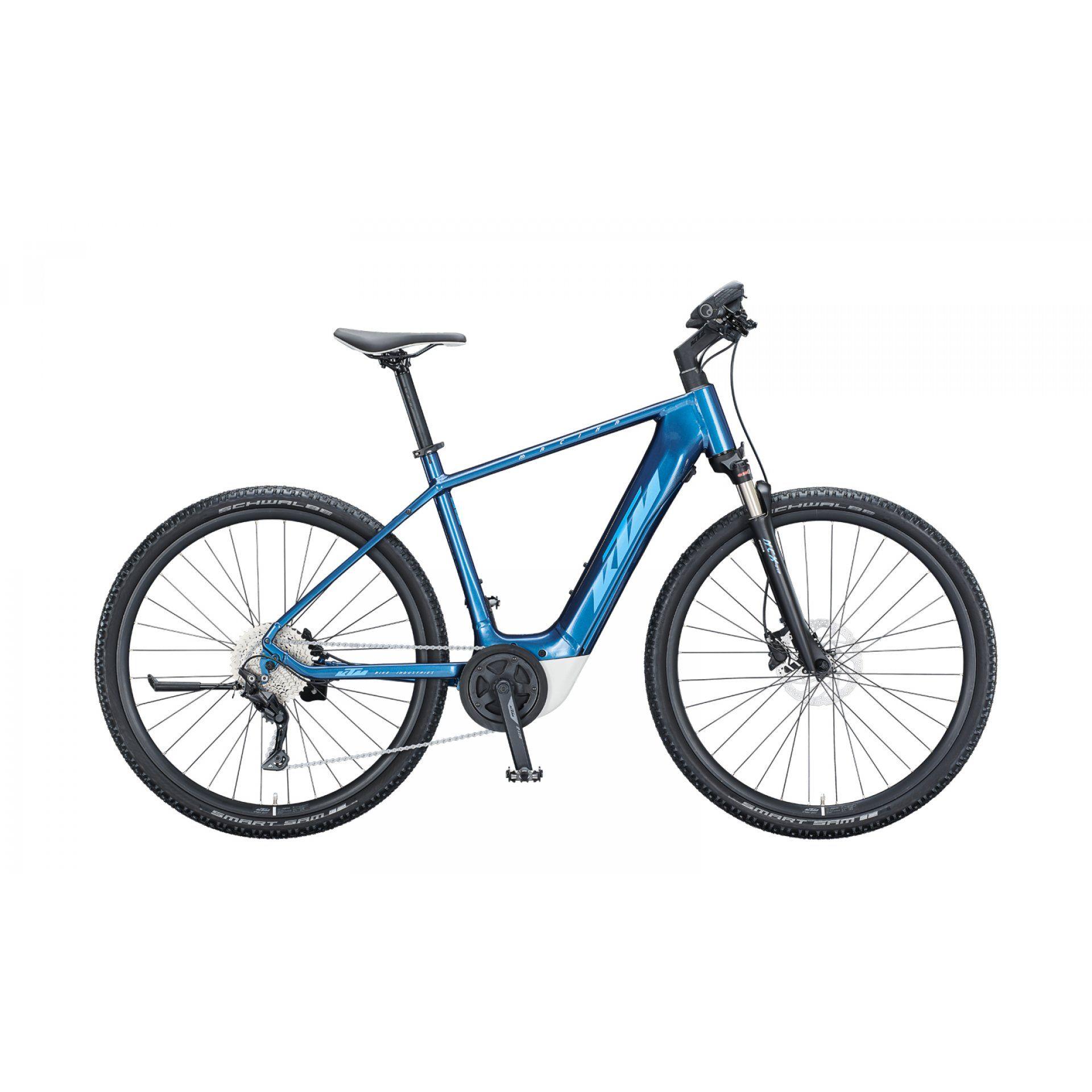 ROWER ELEKTRYCZNY KTM MACINA CROSS P610 H 021349 DENIM|BLUE|WHITE