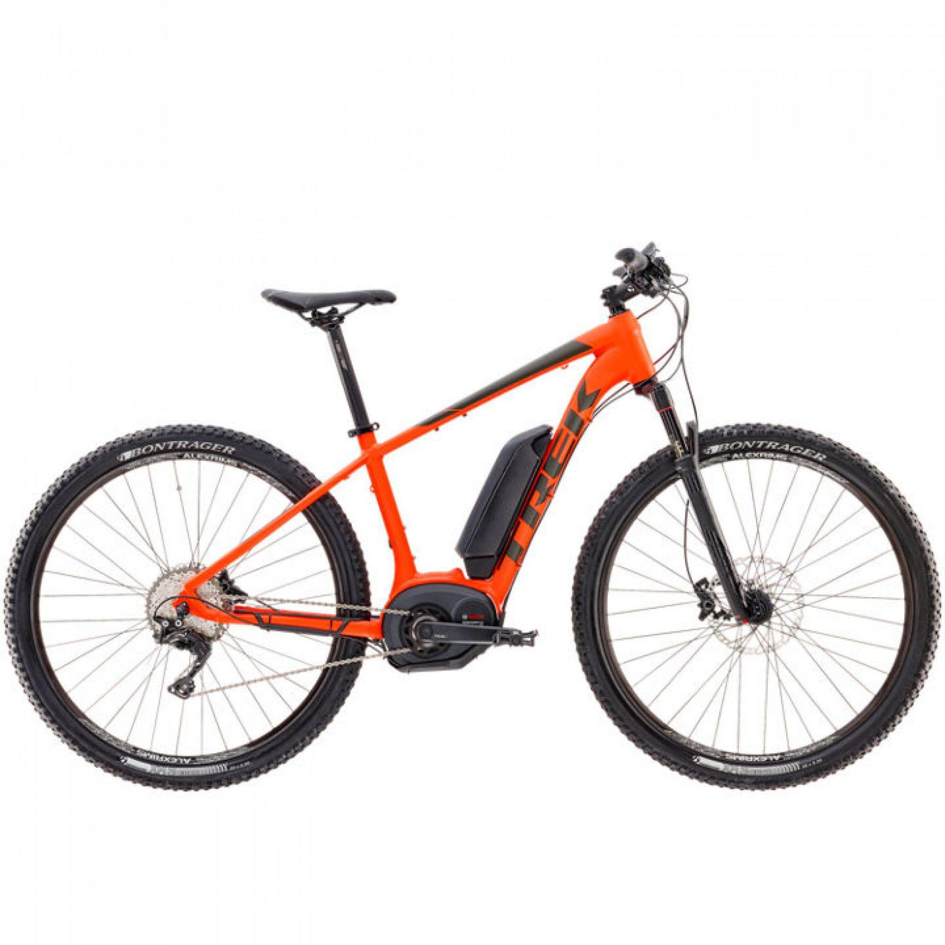 Rower Elektryczny Trek Powerfly 7 2017 Koła 29 Pomarańczowy W
