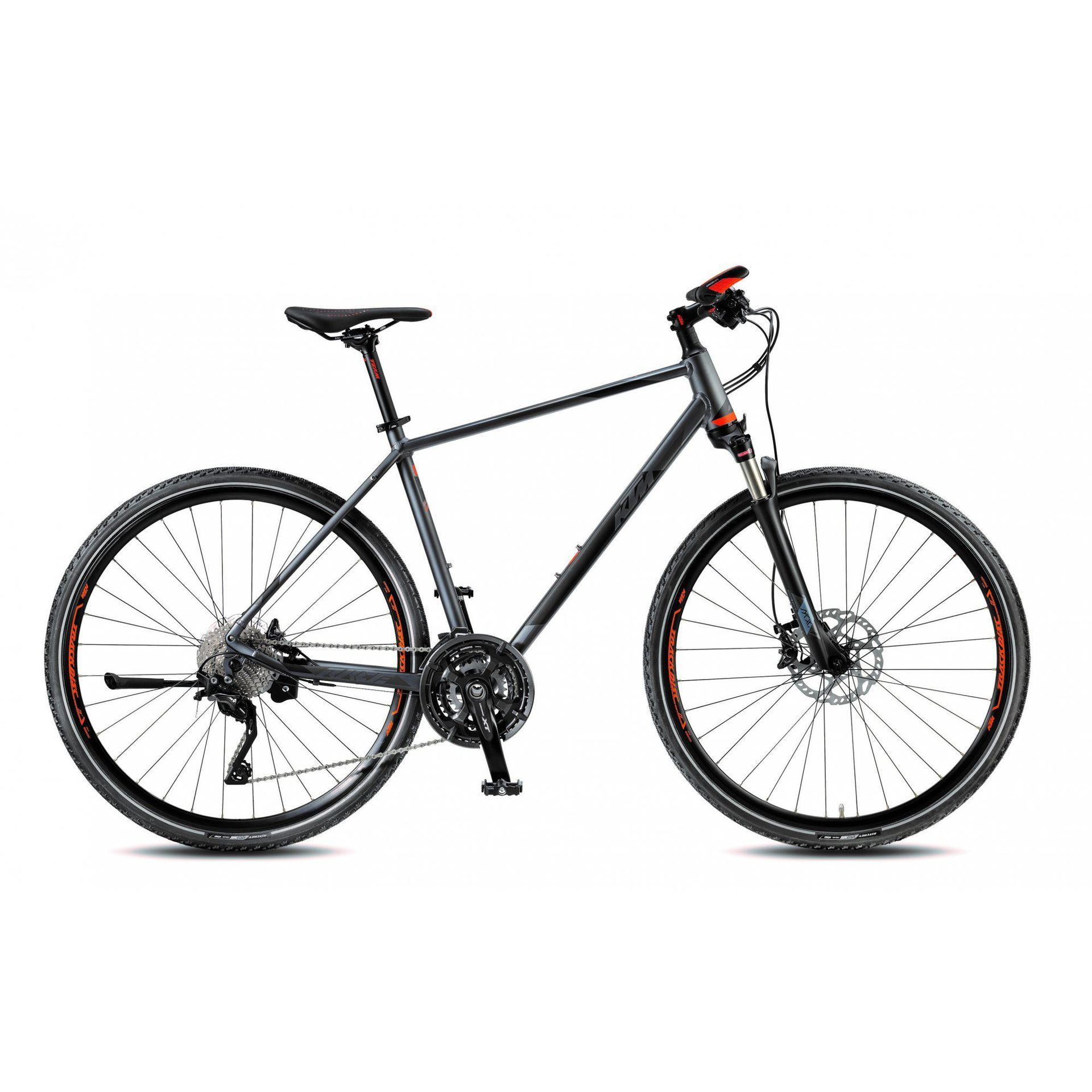 ROWER KTM LEGARDA RACE HE STEELGREY|BLACK|ORANGE