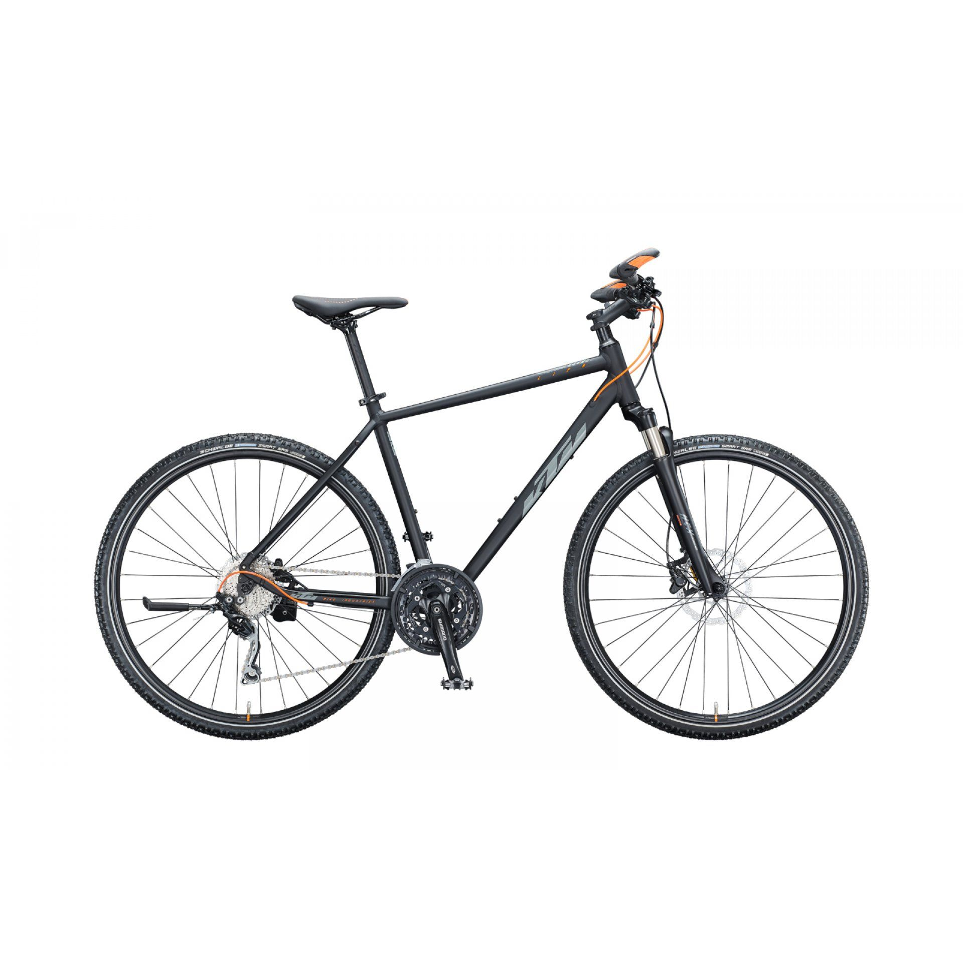 ROWER KTM LIFE ACTION H BLACK MATT|GREY|ORANGE 021202