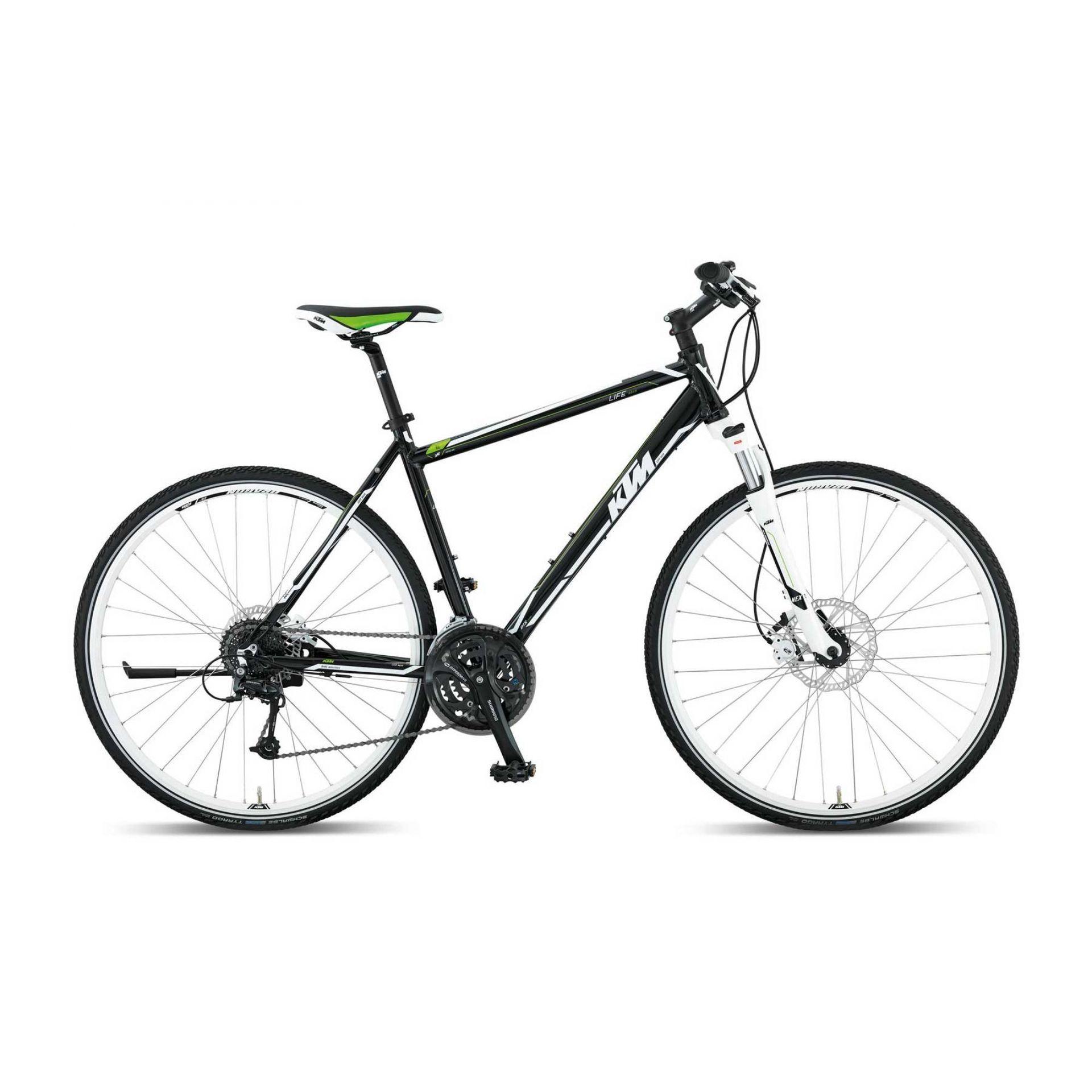 Rower Ktm Life Road czarny|biały|zielony