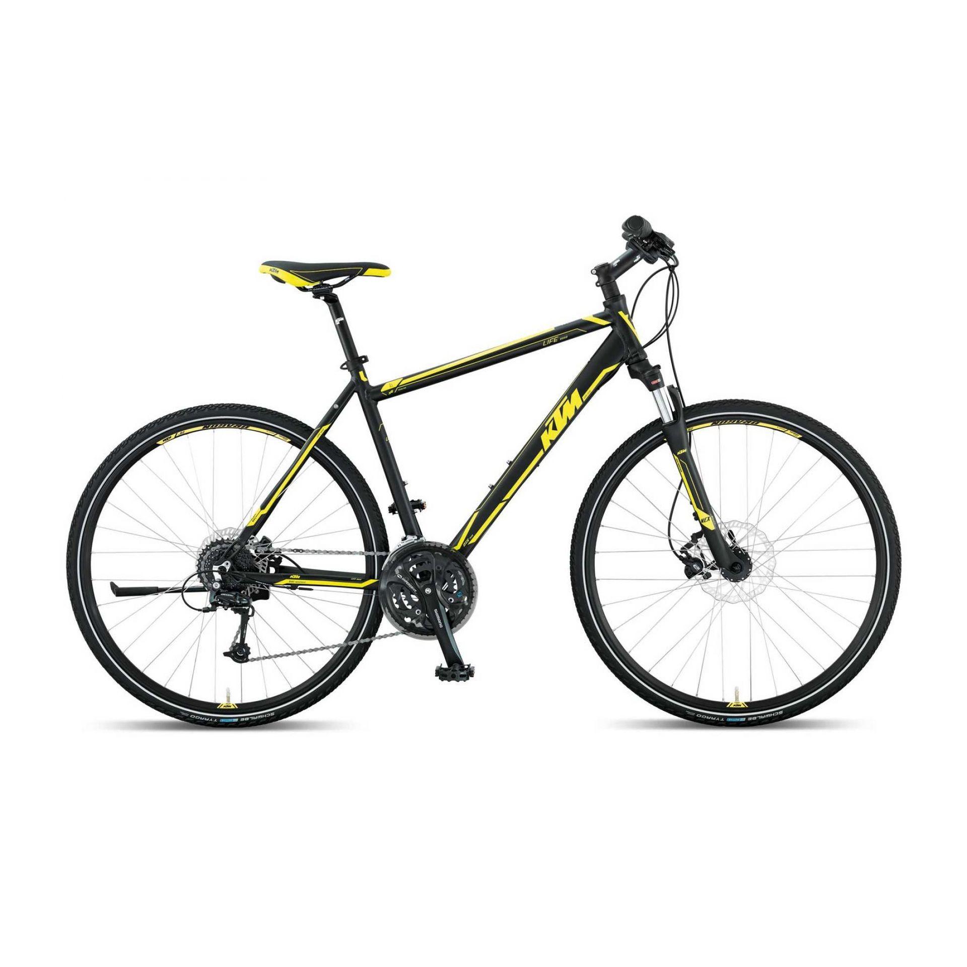 Rower Ktm Life Road Czarny Żółty