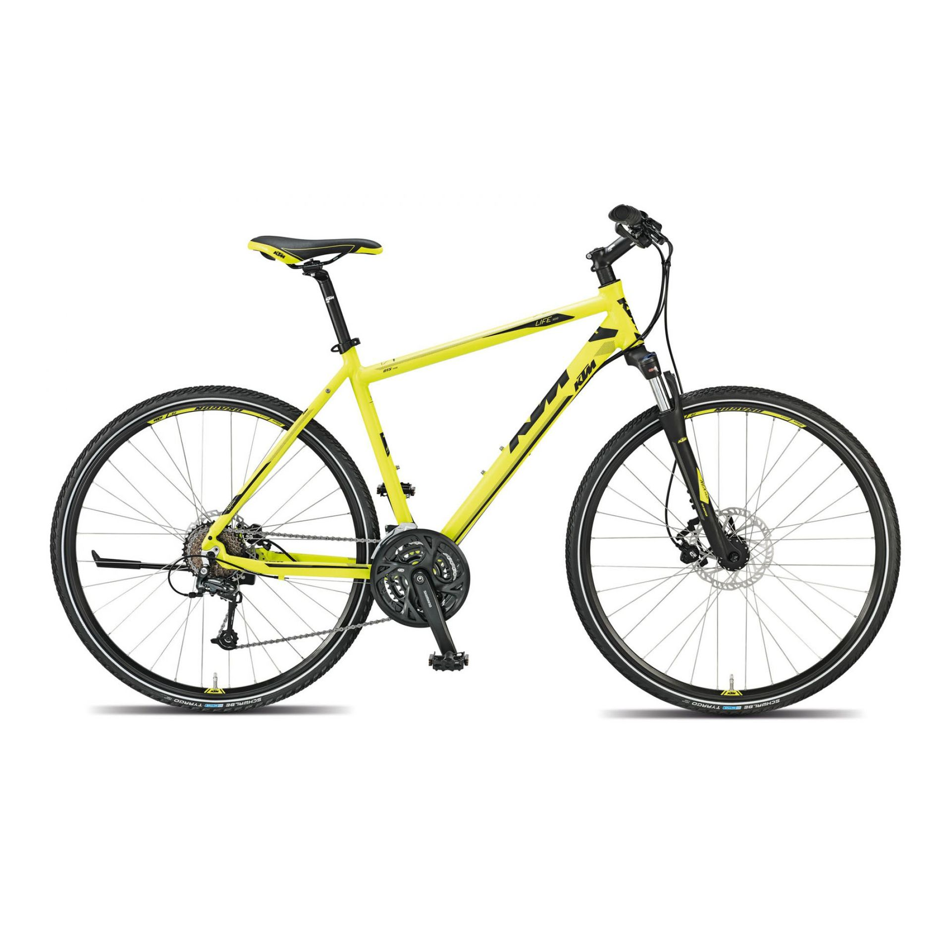 ROWER KTM LIFE ROAD NEON YELLOW