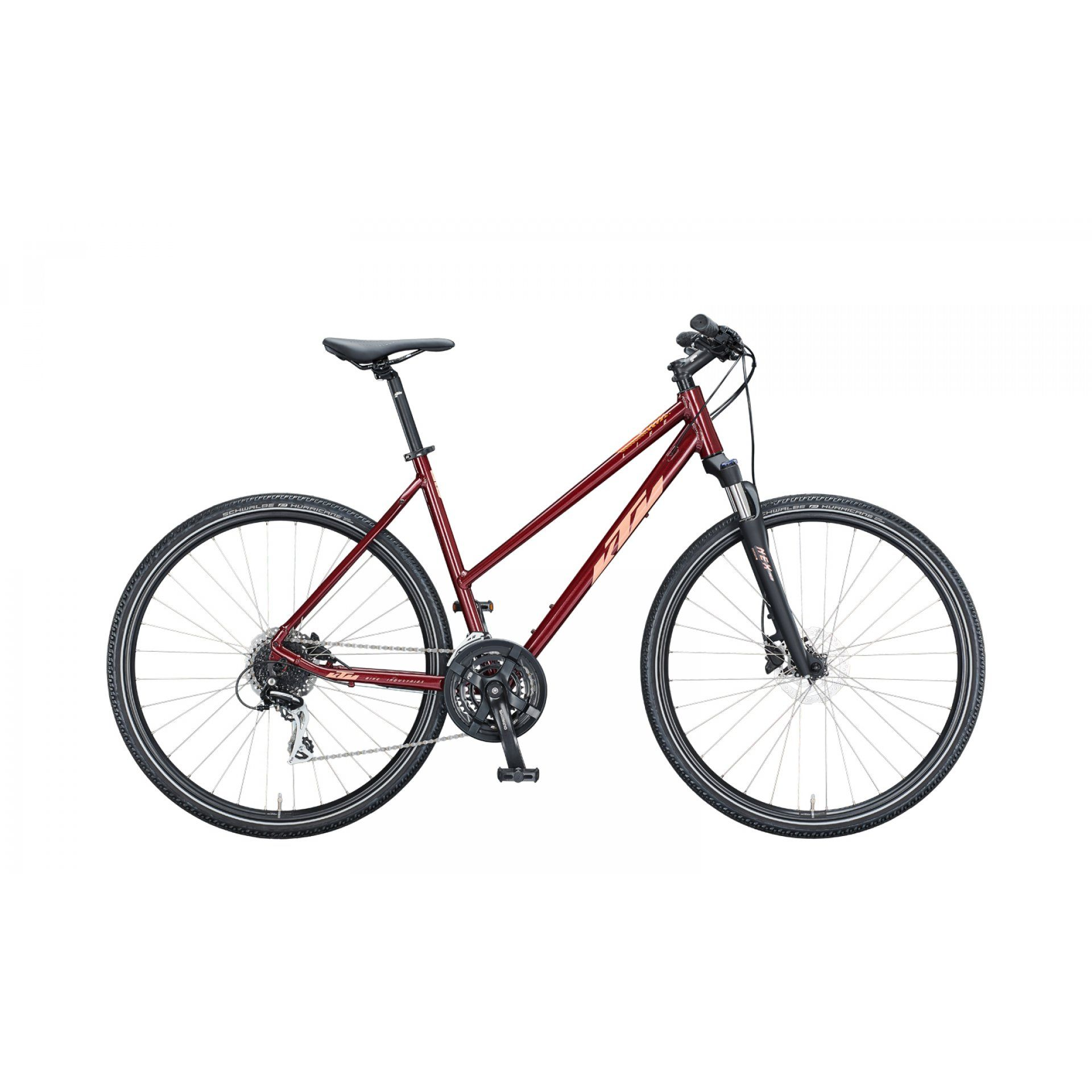ROWER KTM LIFE TRACK D 021205 DARK RED|CORAL