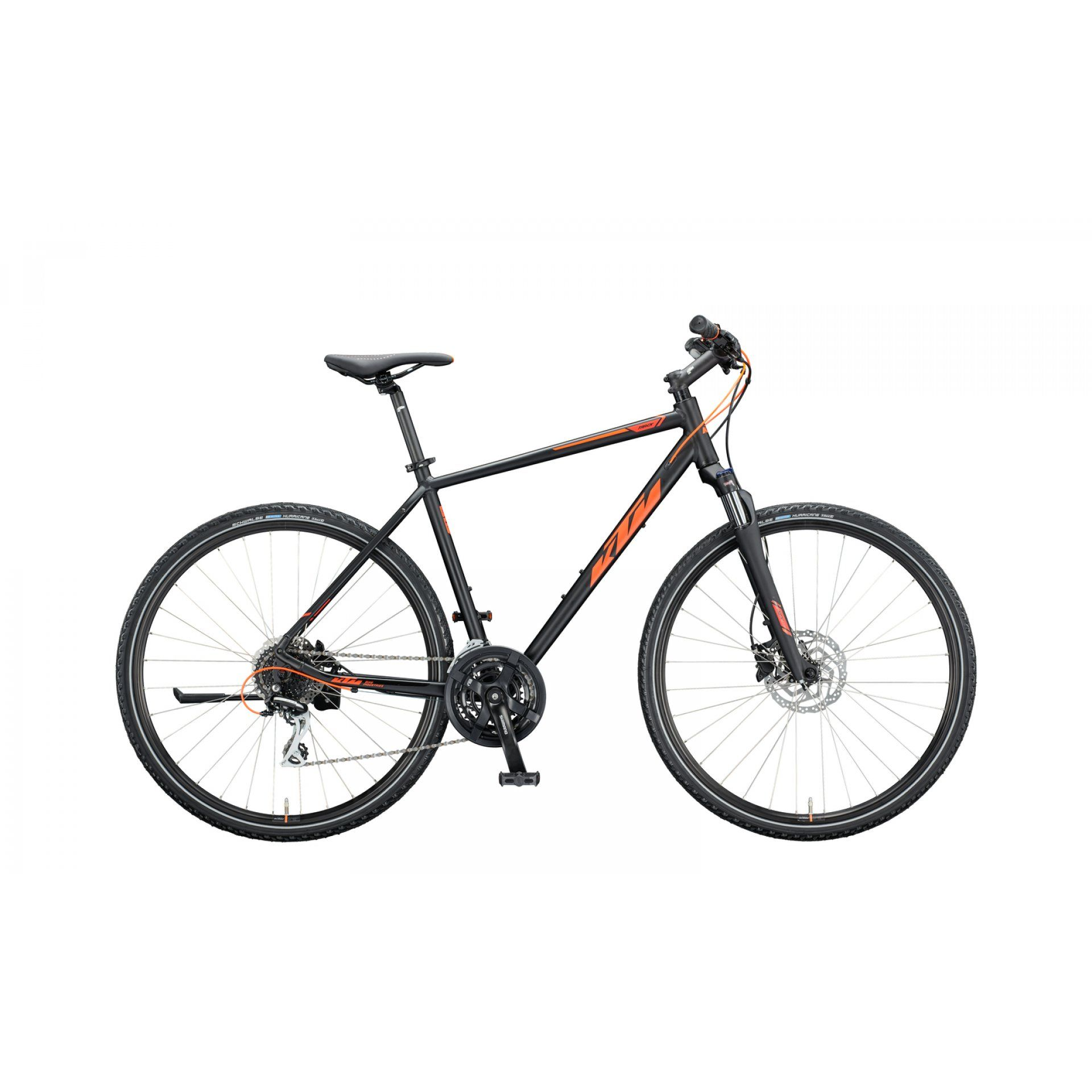 ROWER KTM LIFE TRACK H BLACK MATT|ORANGE 202051