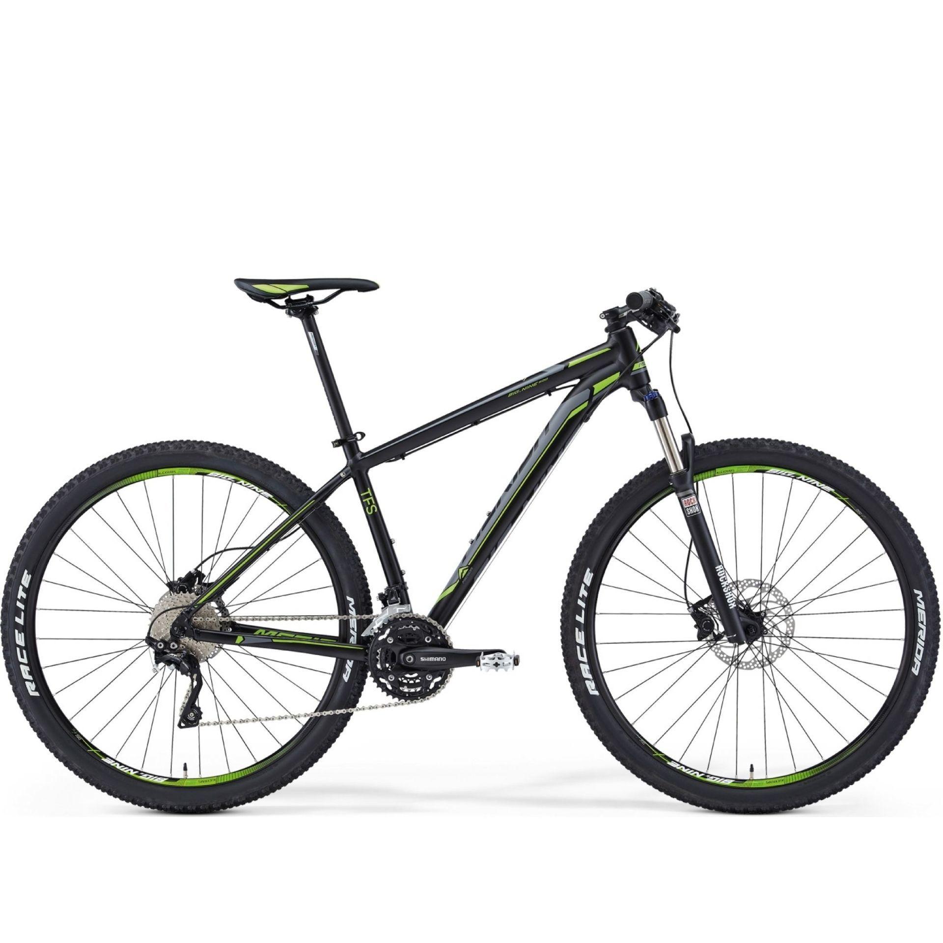 Rower Merida Big Nine 500 Silk Black (Grey Green)