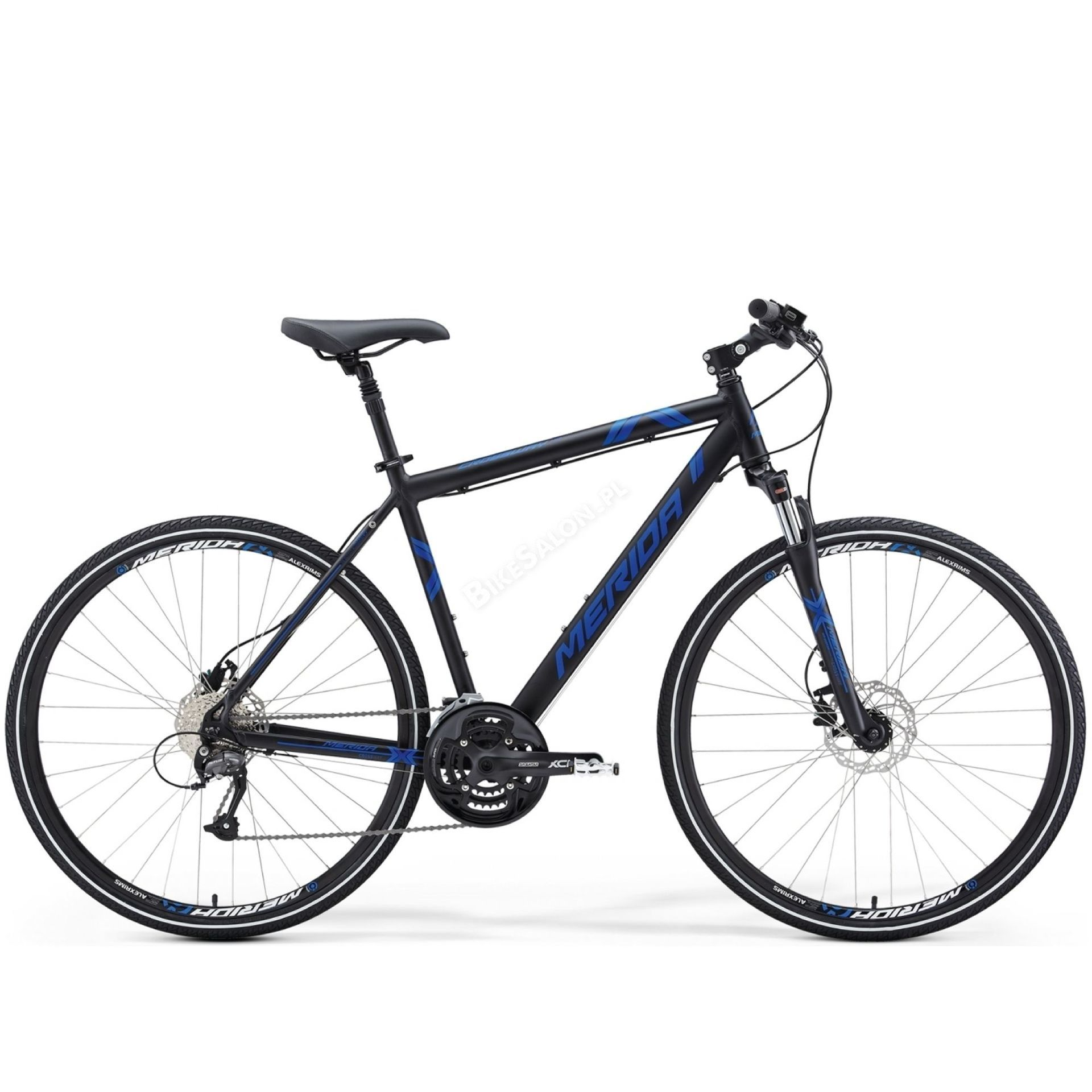 Rower Merida Crossway 40-D Silk Black (Blue)