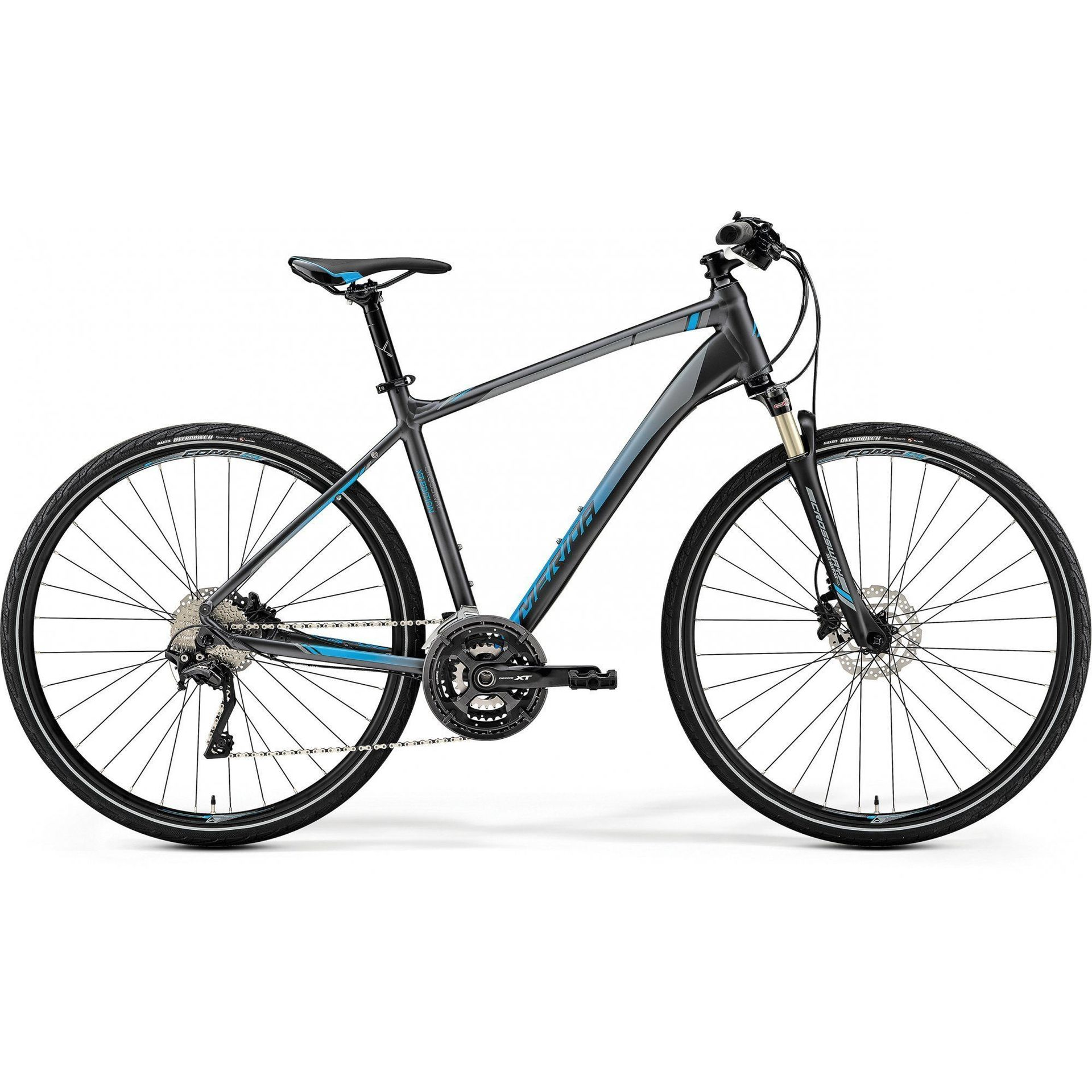 ROWER MERIDA CROSSWAY XT-EDITION DARK SILVER|BLUE