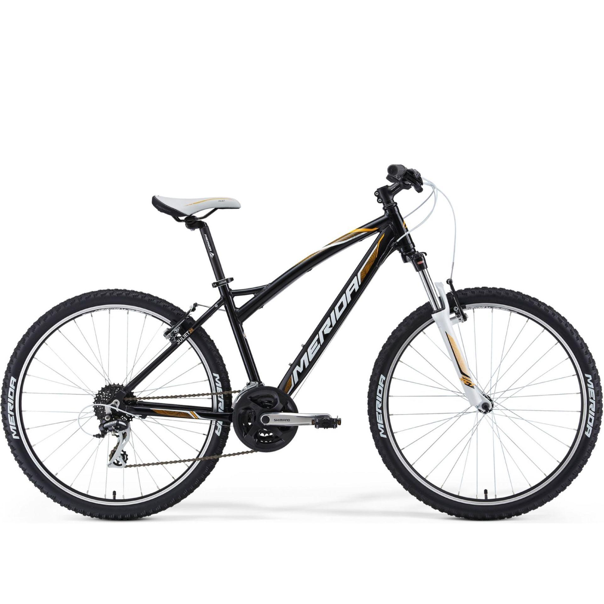 Rower Merida Juliet 20-V czarny biały żółty