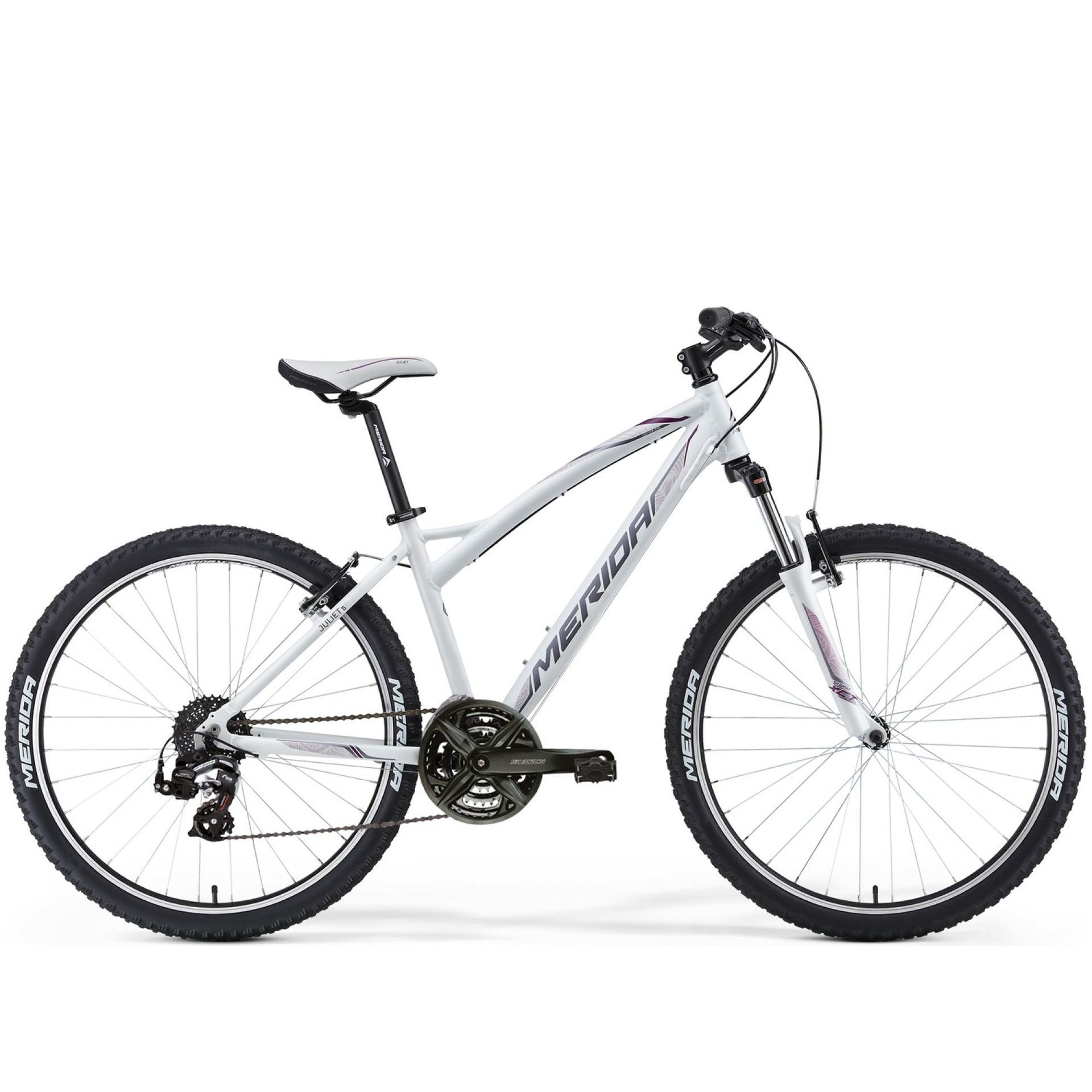 Rower Merida Juliet 5-V biały szary różowy